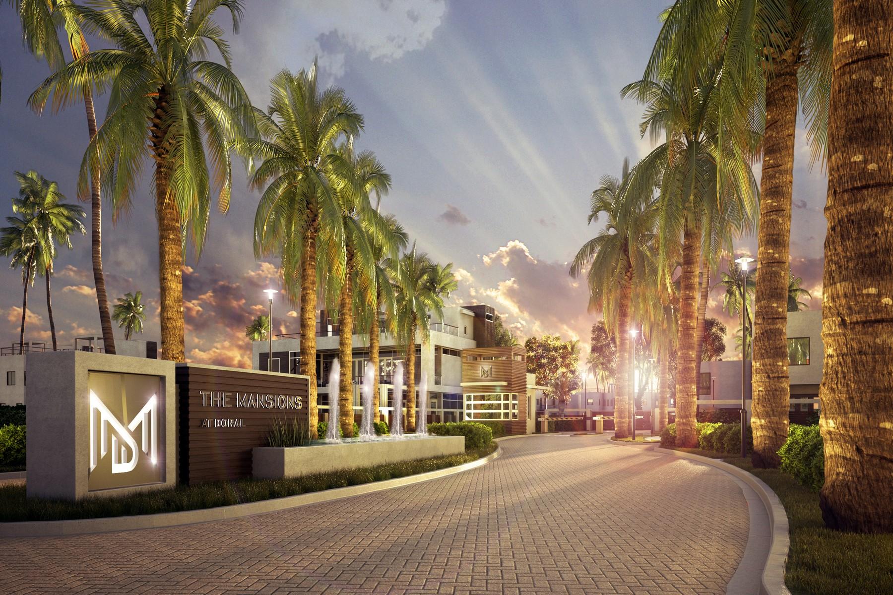 Casa para uma família para Venda às Mansion IV 6805 Nw 107 Avenue Doral, Florida, 33178 Estados Unidos