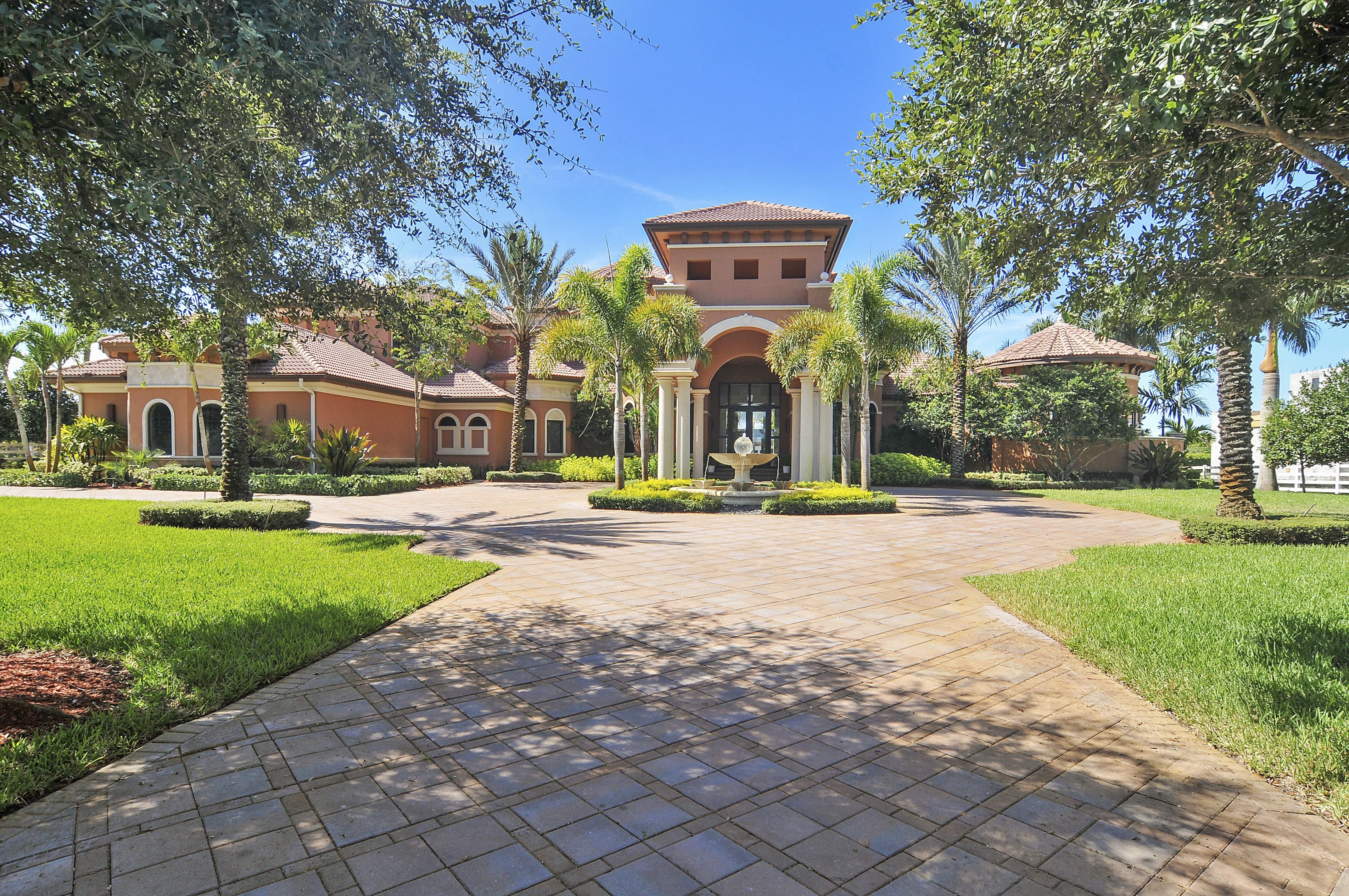 Частный односемейный дом для того Продажа на 16710 Stratford Ct Southwest Ranches, Флорида, 33331 Соединенные Штаты