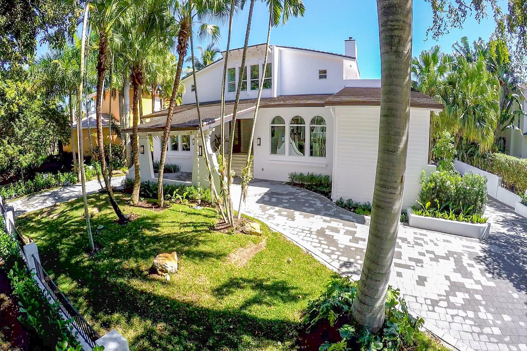 独户住宅 为 销售 在 7233 Los Pinos Blvd 科勒尔盖布尔斯, 佛罗里达州, 33143 美国