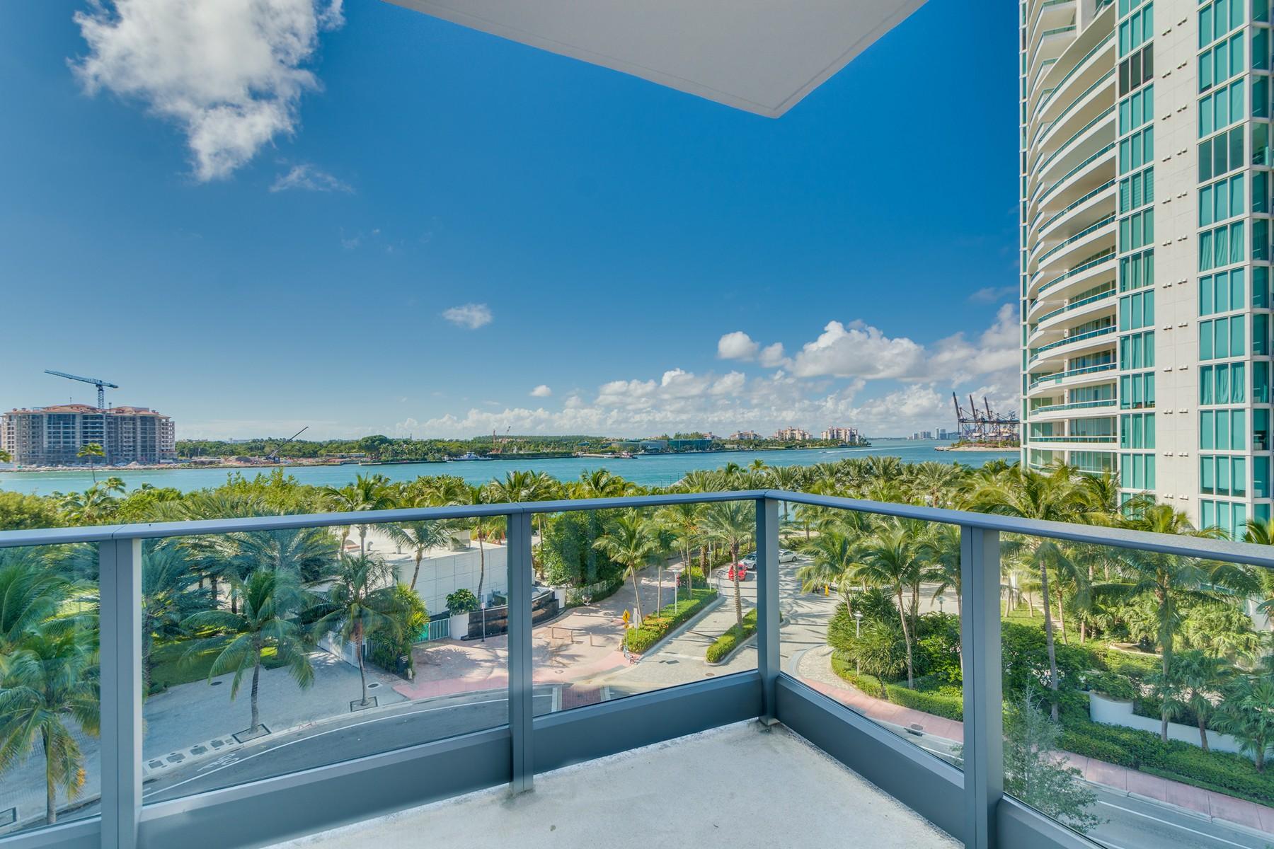 Condominium for Sale at 801 S Pointe Dr #501 801 S Pointe Dr 501 Miami Beach, Florida, 33139 United States