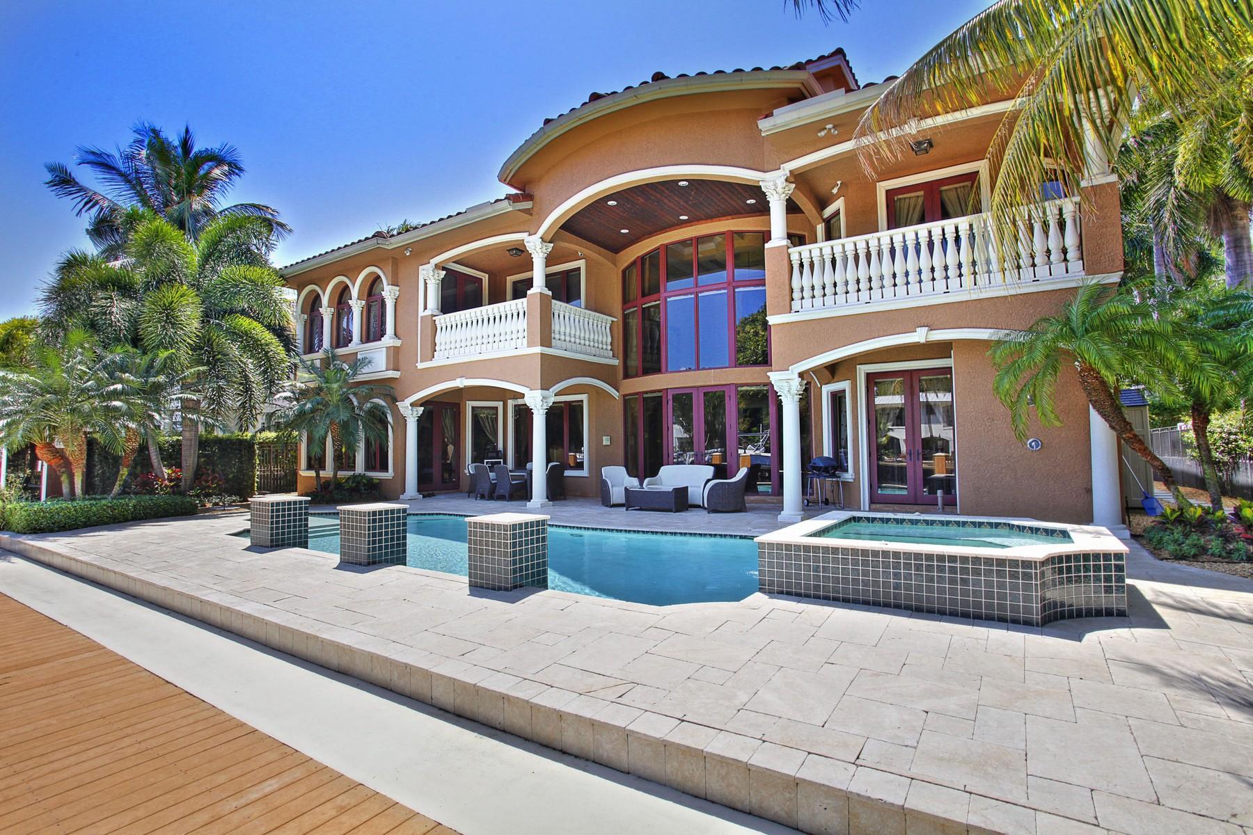 独户住宅 为 销售 在 42 Fiesta Way 劳德代尔堡, 佛罗里达州, 33301 美国