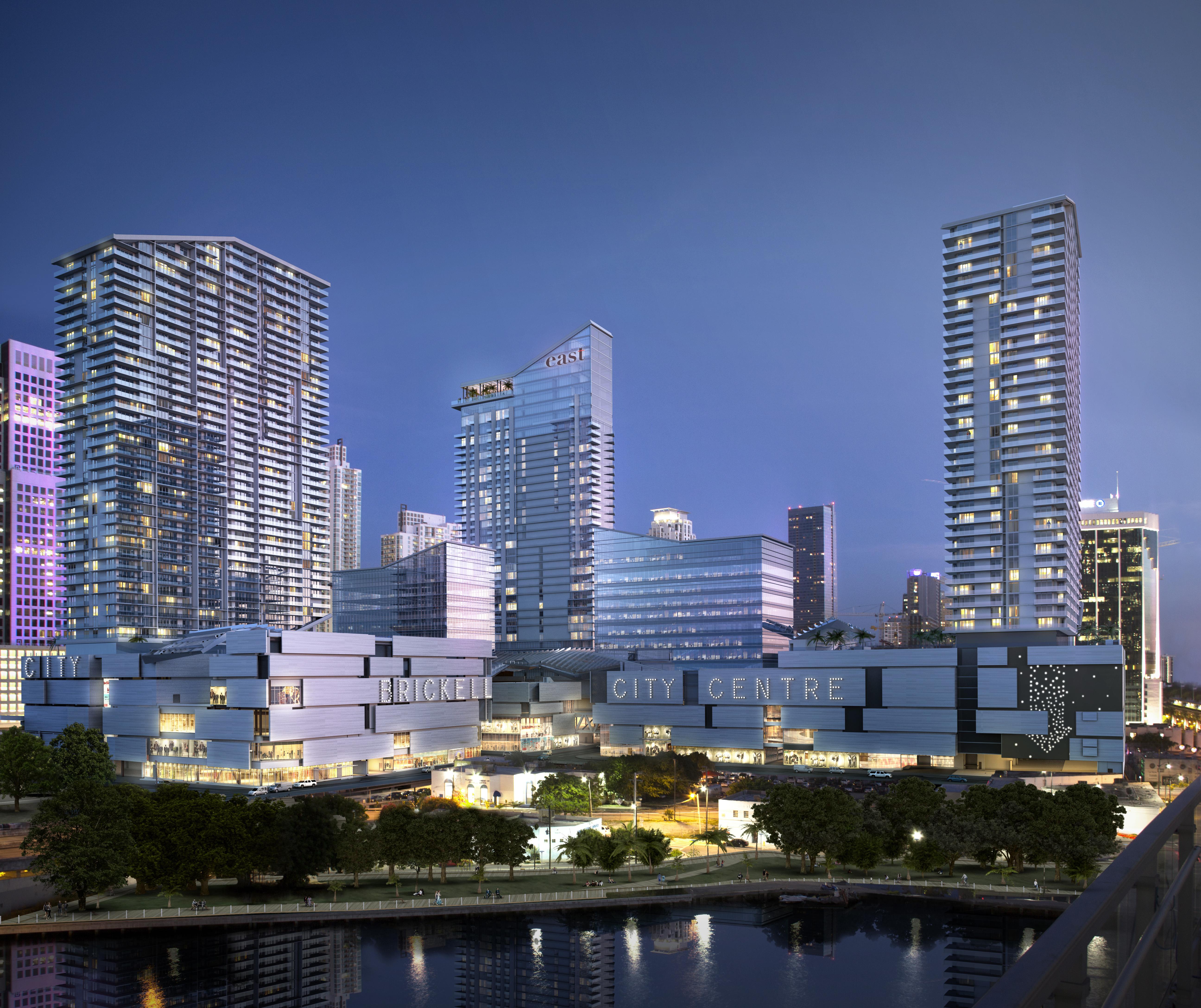 Appartement en copropriété pour l Vente à 68 Se 6 Street #1403 68 Se 6 Street 1403 Miami, Florida, 33131 États-Unis