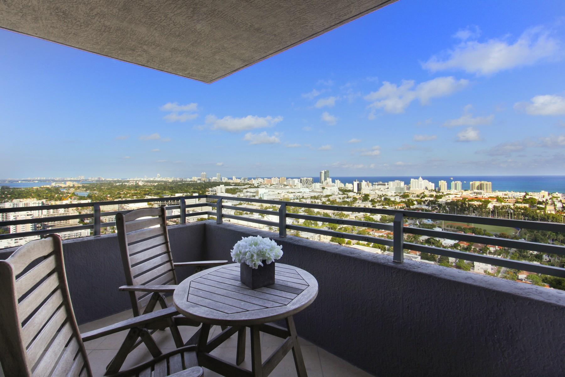 콘도미니엄 용 매매 에 1330 West Av #3107 1330 West Av 3107 Miami Beach, 플로리다, 33139 미국
