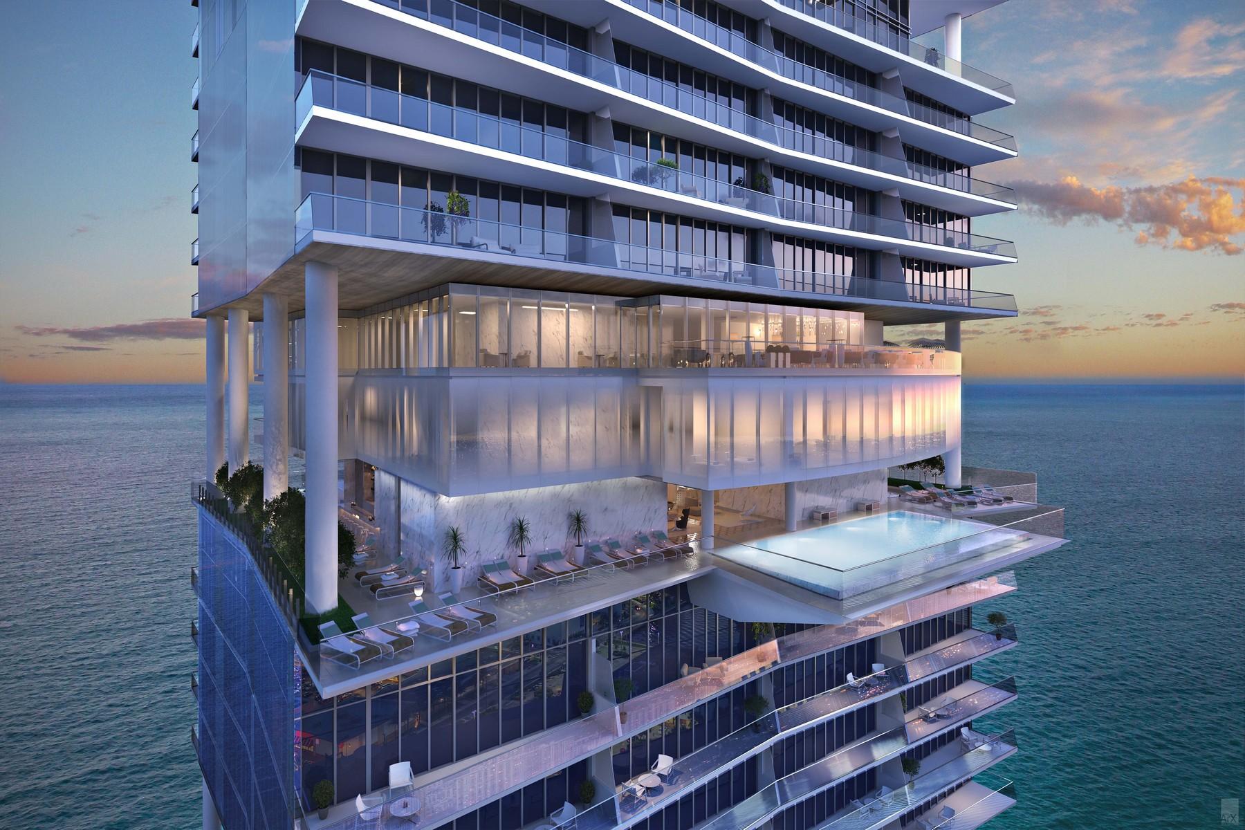 Condominium for Sale at 18501 Collins #3702 18501 Collins 3702 Sunny Isles Beach, Florida, 33160 United States