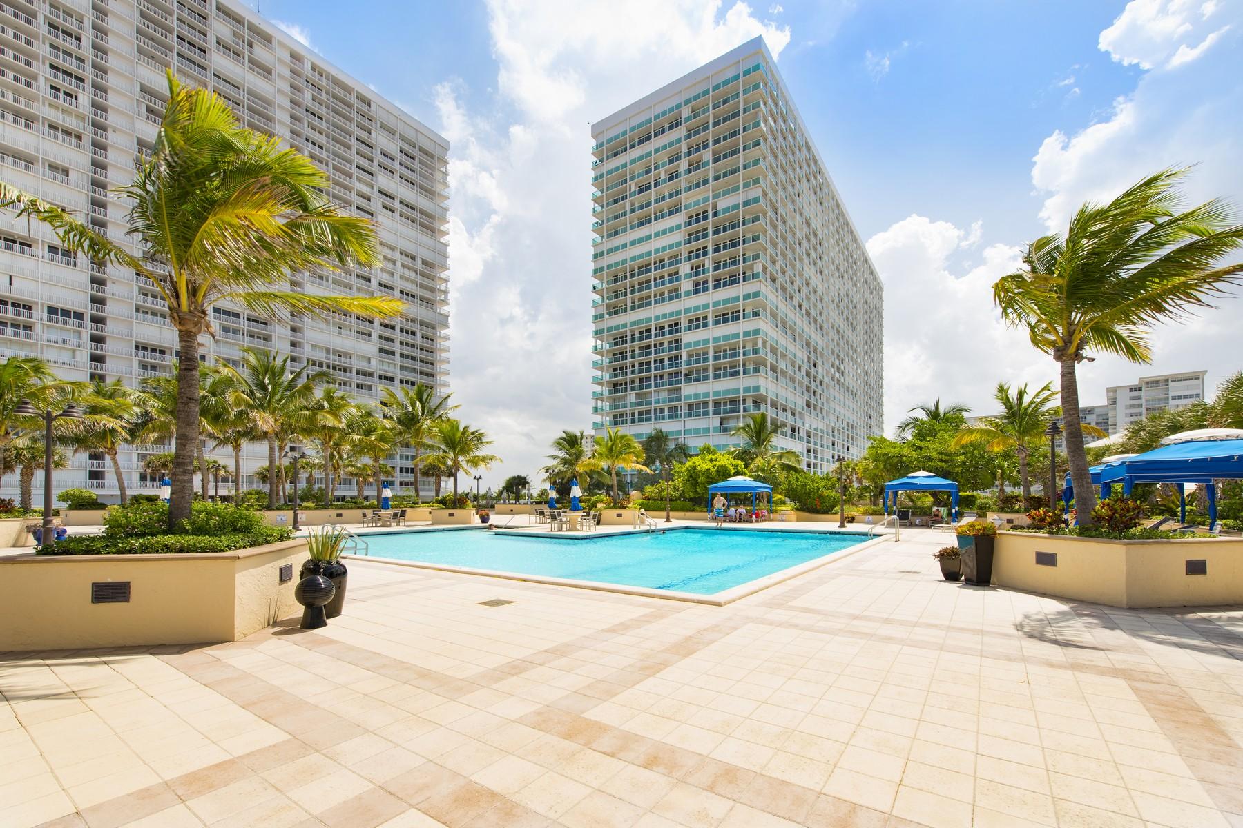 共管式独立产权公寓 为 销售 在 2100 S. Ocean Ln. #1902 2100 S Ocean Ln 1902 劳德代尔堡, 佛罗里达州, 33316 美国