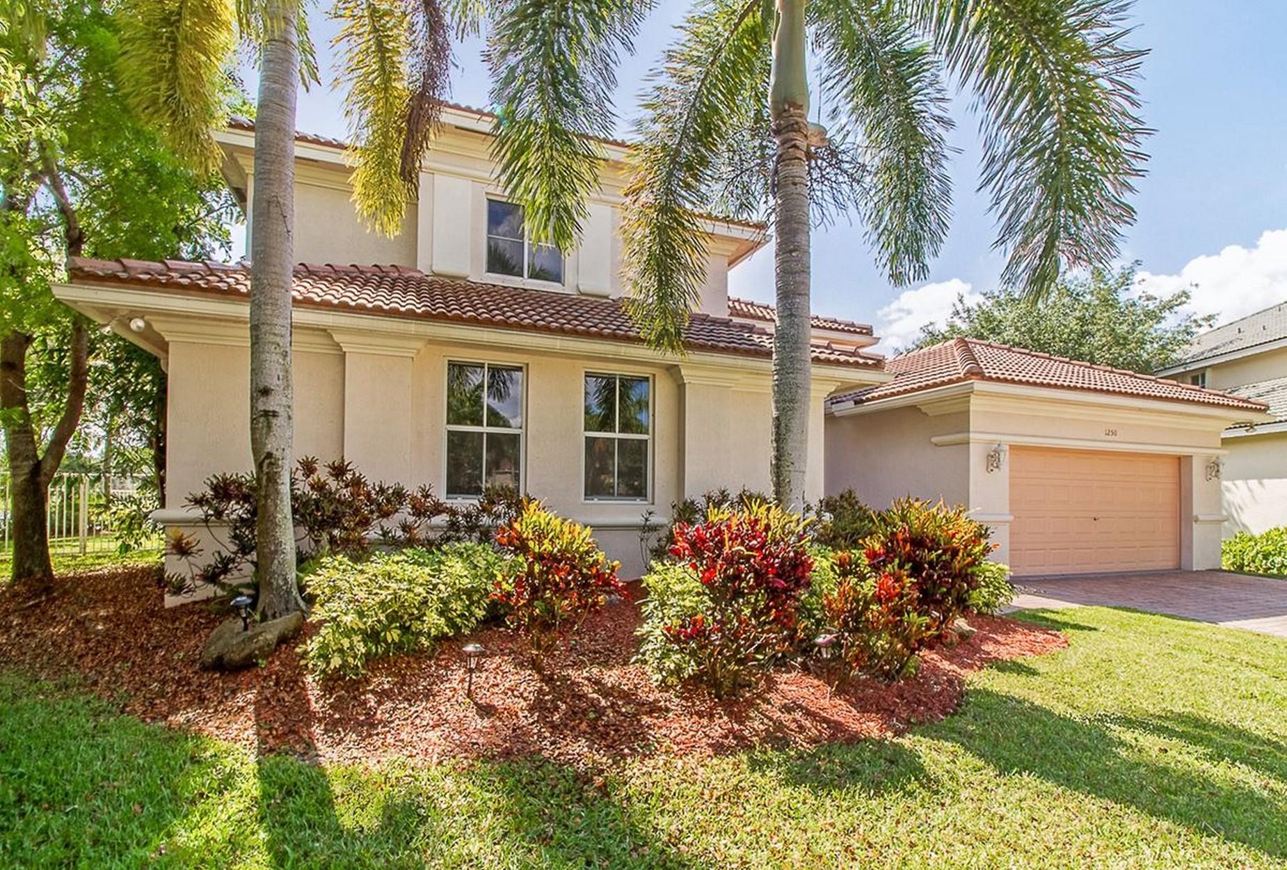 獨棟家庭住宅 為 出售 在 1250 Placid Ct Weston, 佛羅里達州, 33327 美國
