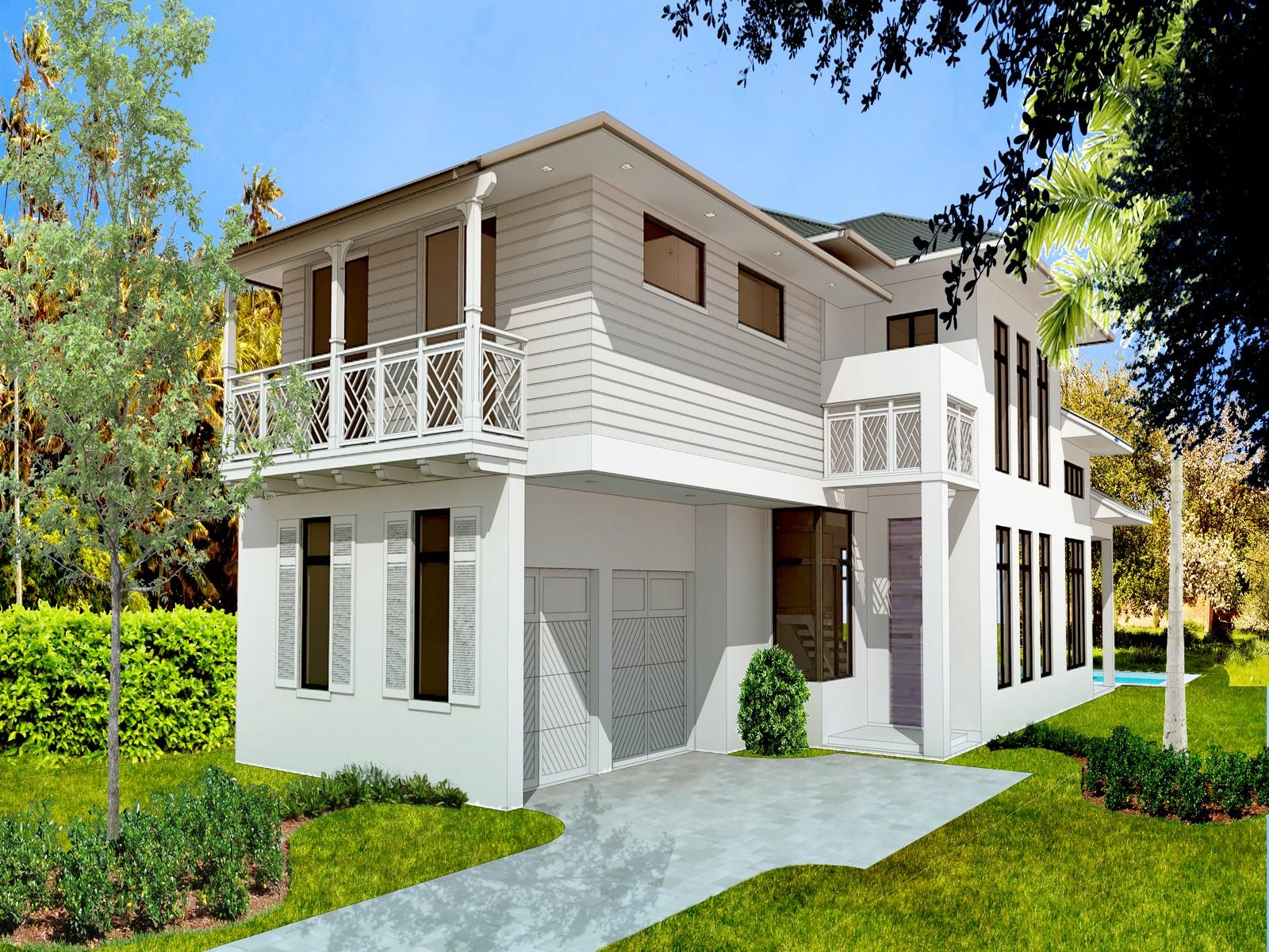 Maison unifamiliale pour l Vente à 3630 Avocado Ave Coconut Grove, Florida, 33133 États-Unis