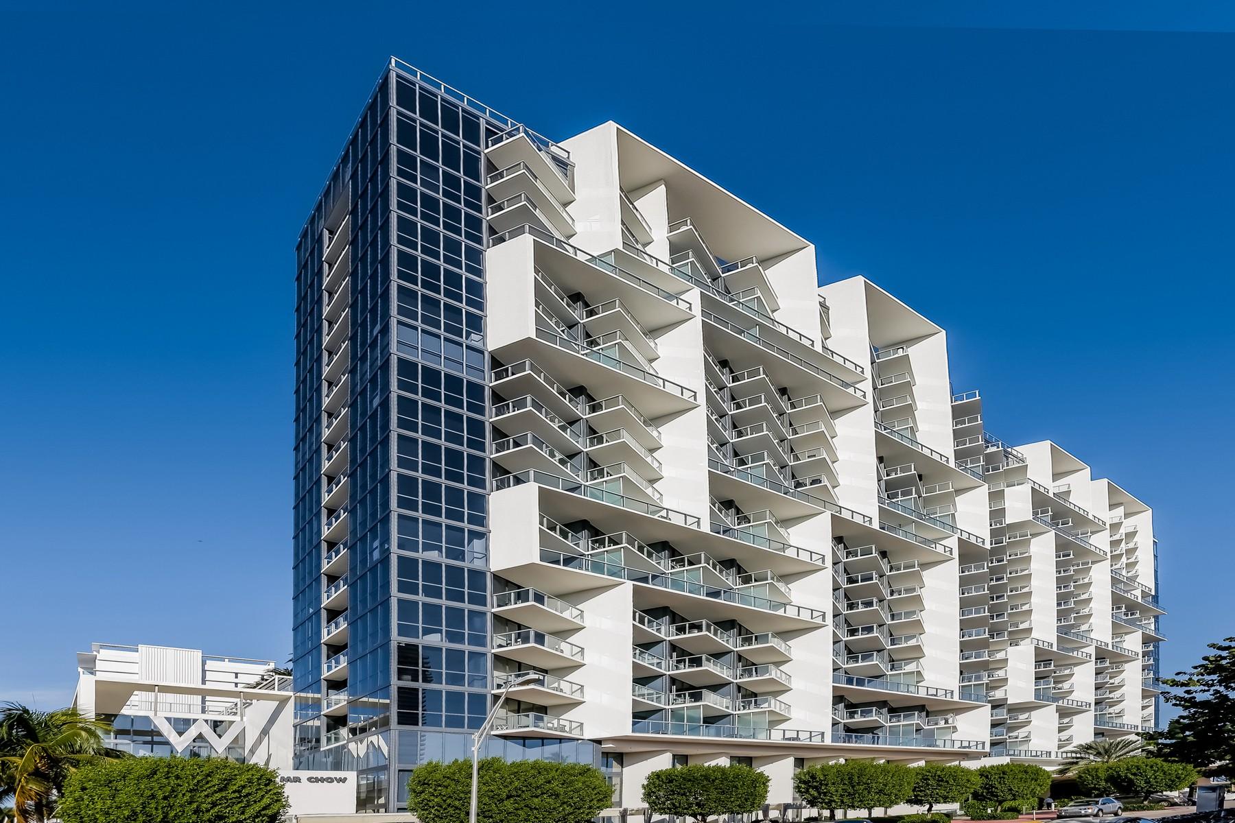 Copropriété pour l Vente à 2201 Collins Ave #1614 2201 Collins Ave 1614 Miami Beach, Florida, 33139 États-Unis