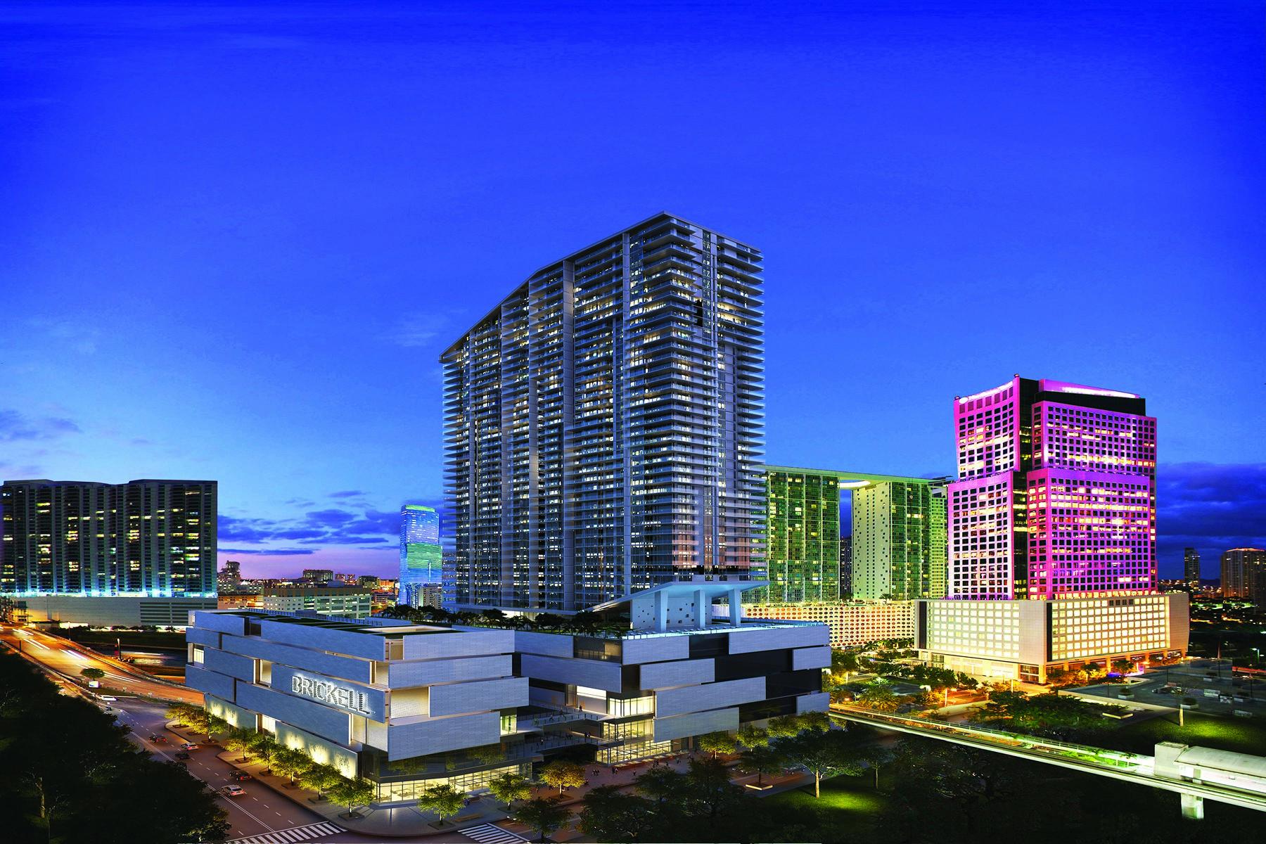 共管式独立产权公寓 为 销售 在 68 SE 6th St #2103 68 Se 6 Street 2103 迈阿密, 佛罗里达州, 33131 美国