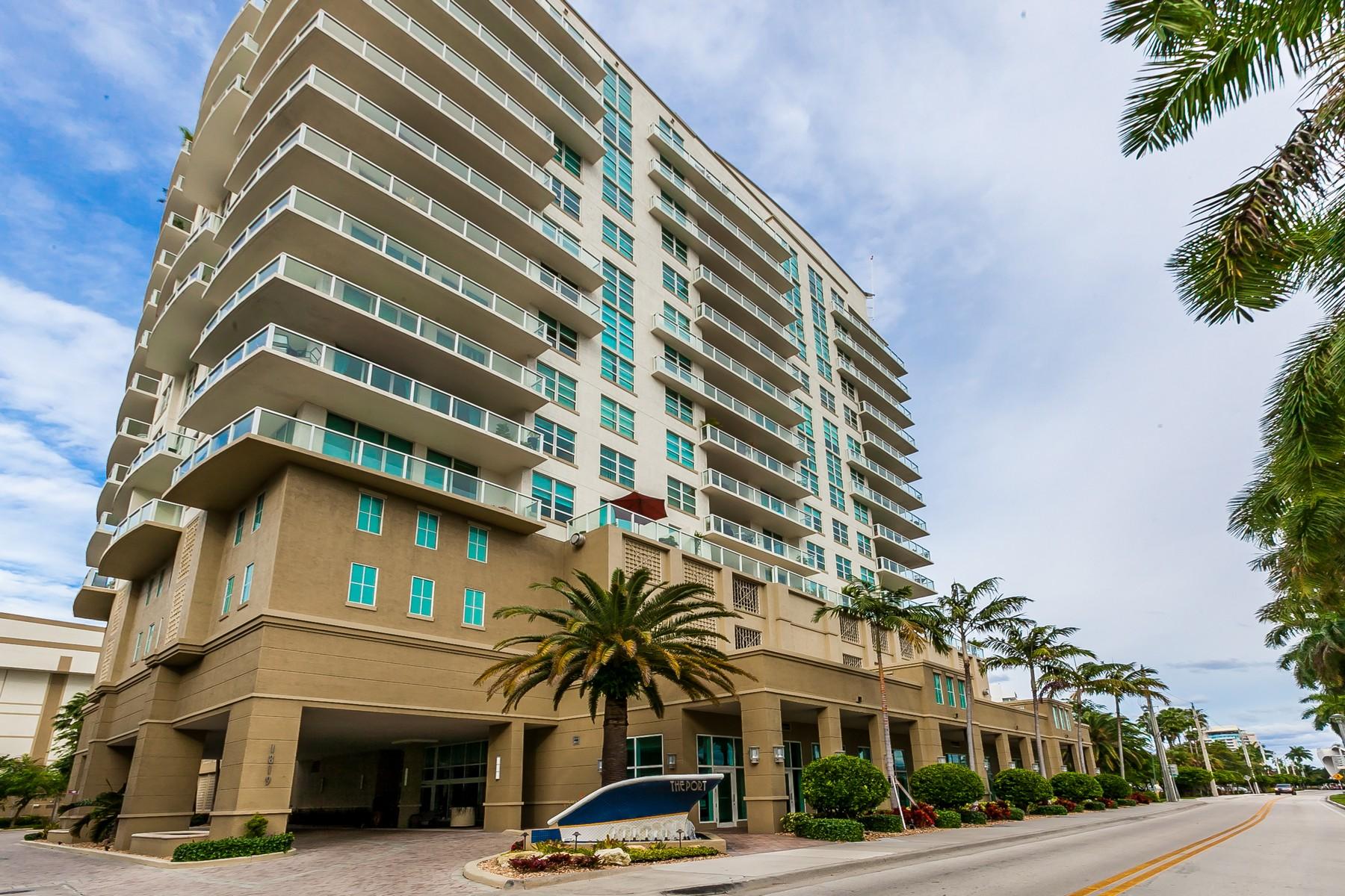 コンドミニアム のために 売買 アット The Port Condo 1819 Se 17th St 511 Fort Lauderdale, フロリダ, 33316 アメリカ合衆国