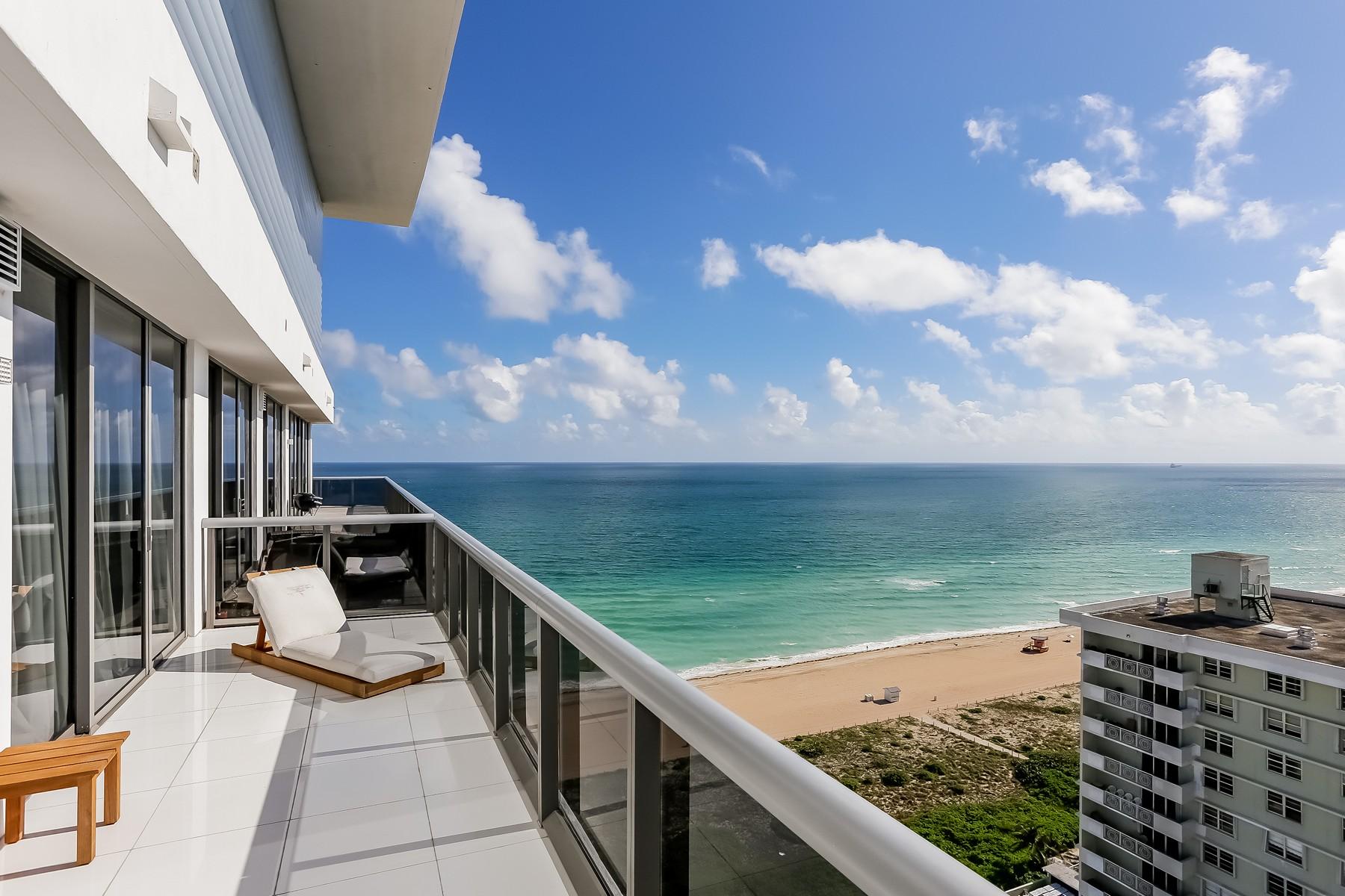 共管物業 為 出售 在 5875 Collins Ave #PH04 5875 Collins Ave PH4 Miami Beach, 佛羅里達州, 33140 美國