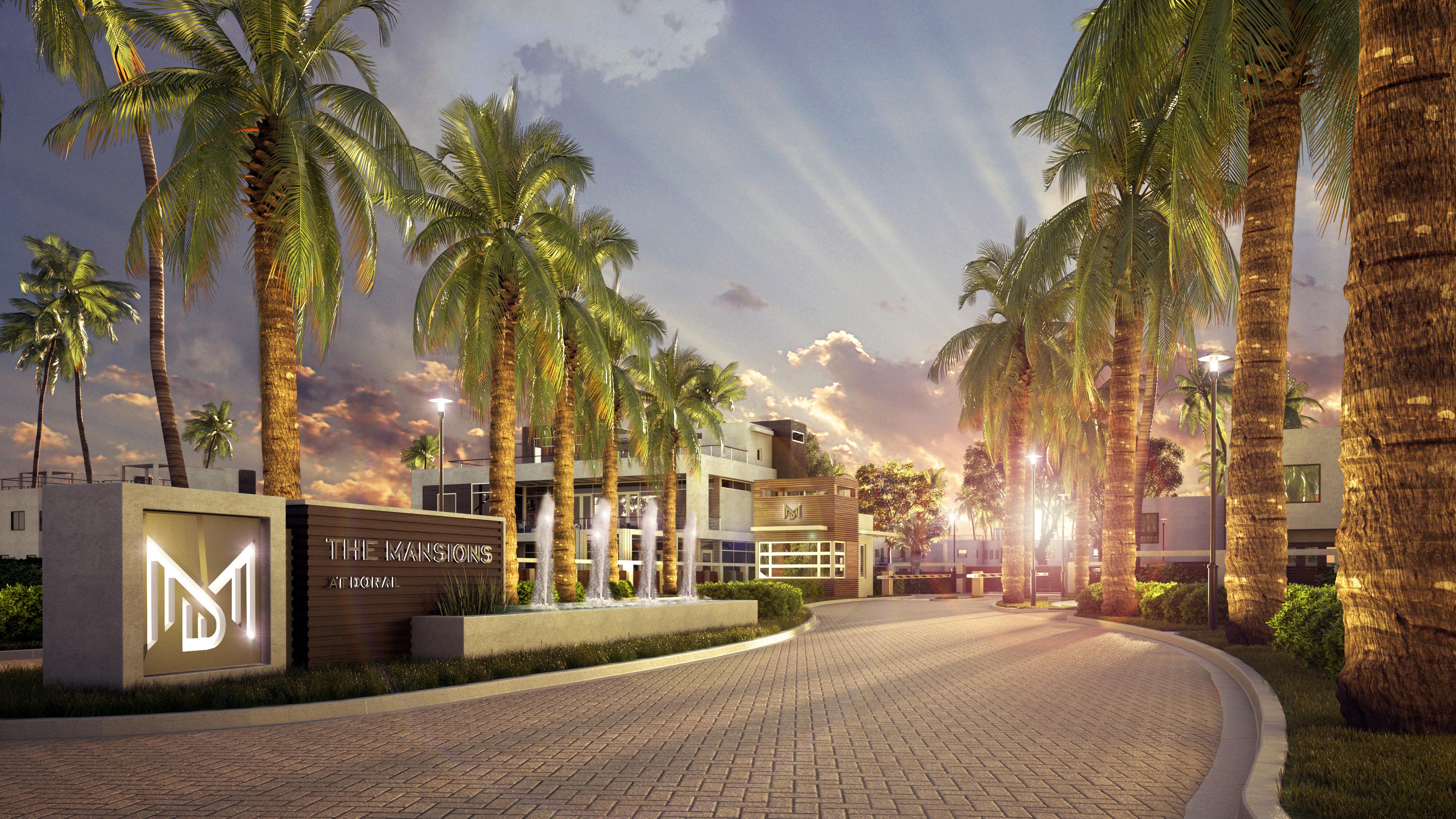 Casa para uma família para Venda às Mansion III 6805 Nw 107th Av Doral, Florida, 33178 Estados Unidos