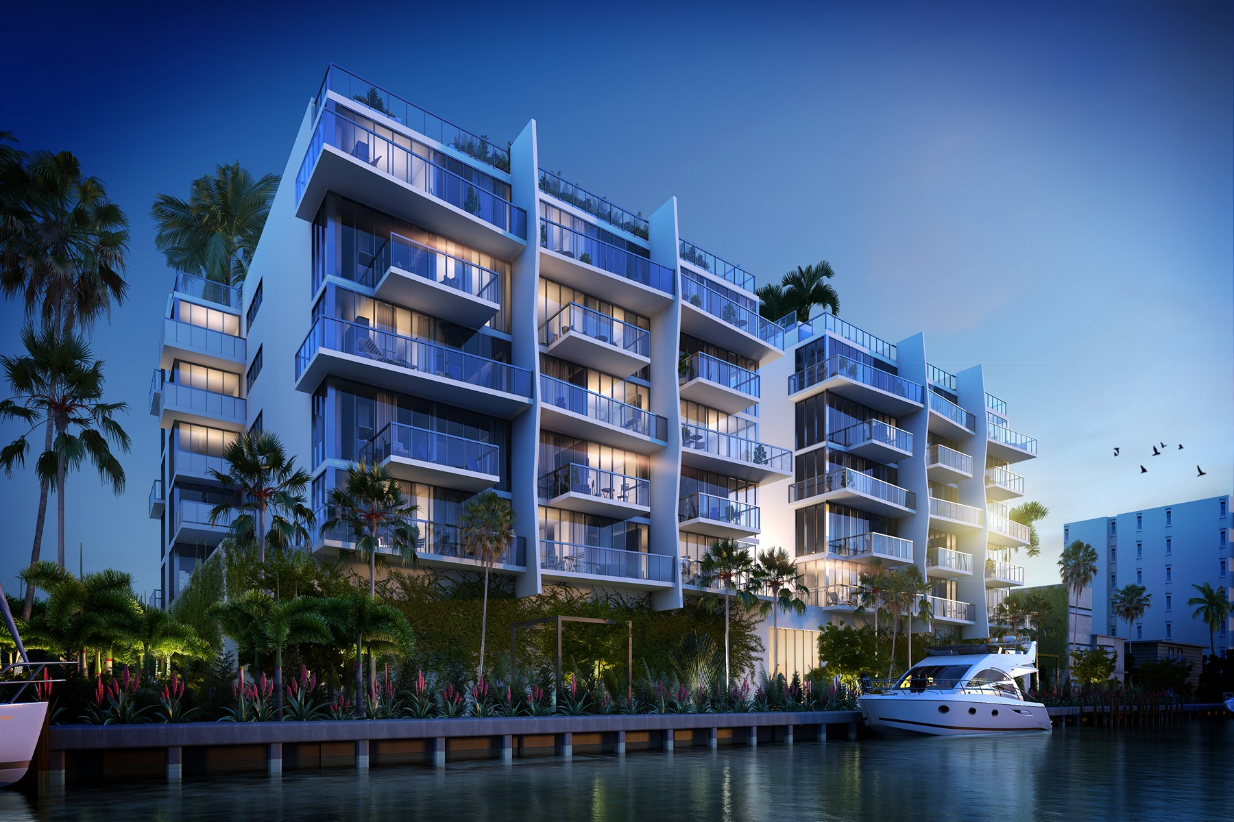 Copropriété pour l Vente à 9960 W Bay Harbor Dr #6F 9940 W Bay Harbor Dr 6F Bay Harbor Islands, Florida, 33154 États-Unis