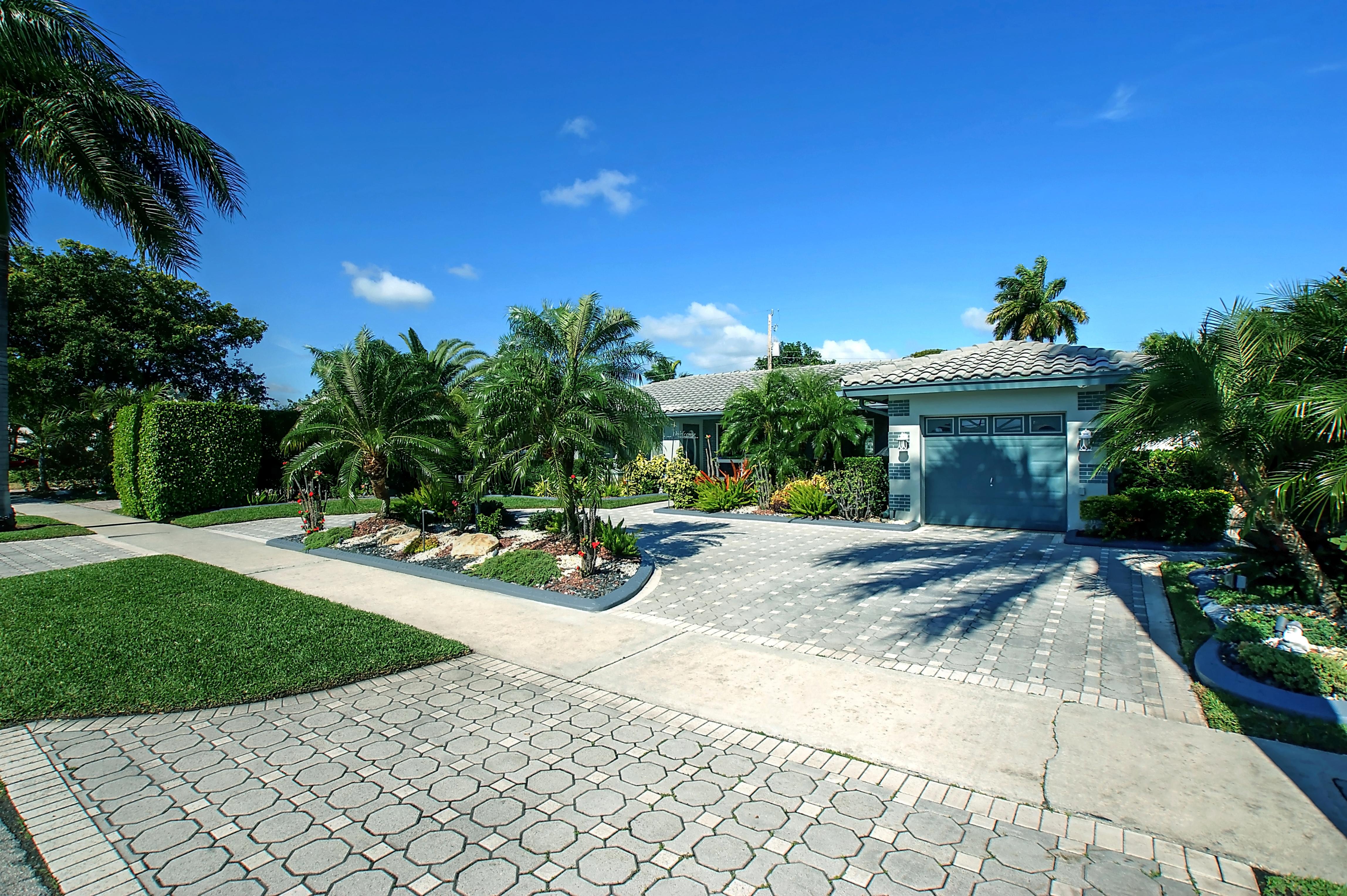 단독 가정 주택 용 매매 에 2141 Ne 64th St Fort Lauderdale, 플로리다, 33308 미국