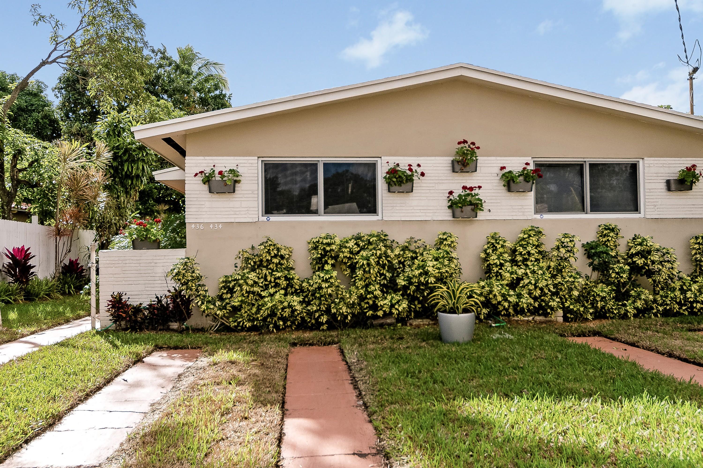 단독 가정 주택 용 매매 에 434 NE 71 St 434 Ne 71st St Miami, 플로리다, 33138 미국