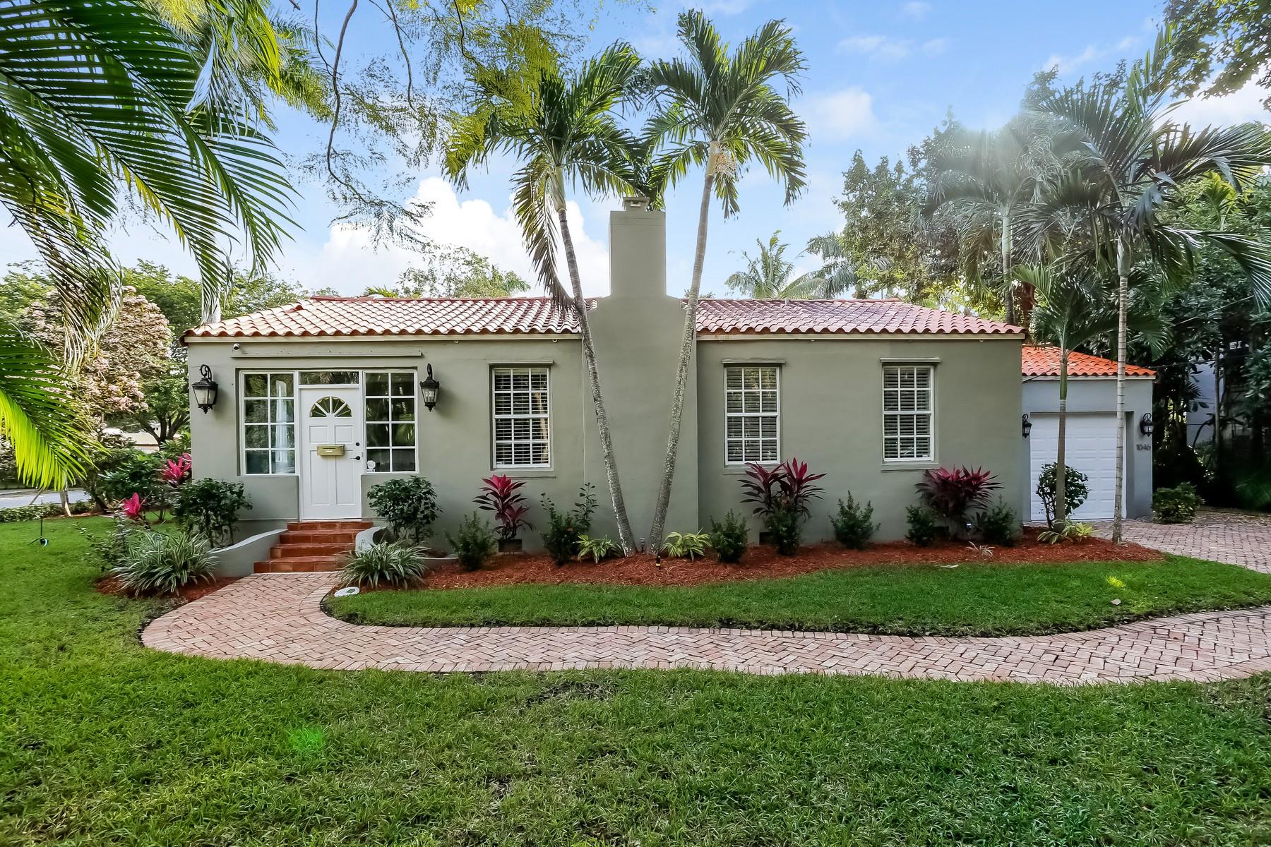 獨棟家庭住宅 為 出售 在 1046 Milan Ave Coral Gables, 佛羅里達州, 33134 美國