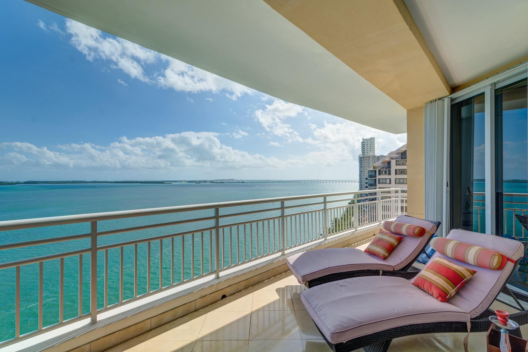 共管式独立产权公寓 为 销售 在 808 Brickell Key Dr #1104 808 Brickell Key Dr 1104 迈阿密, 佛罗里达州, 33131 美国