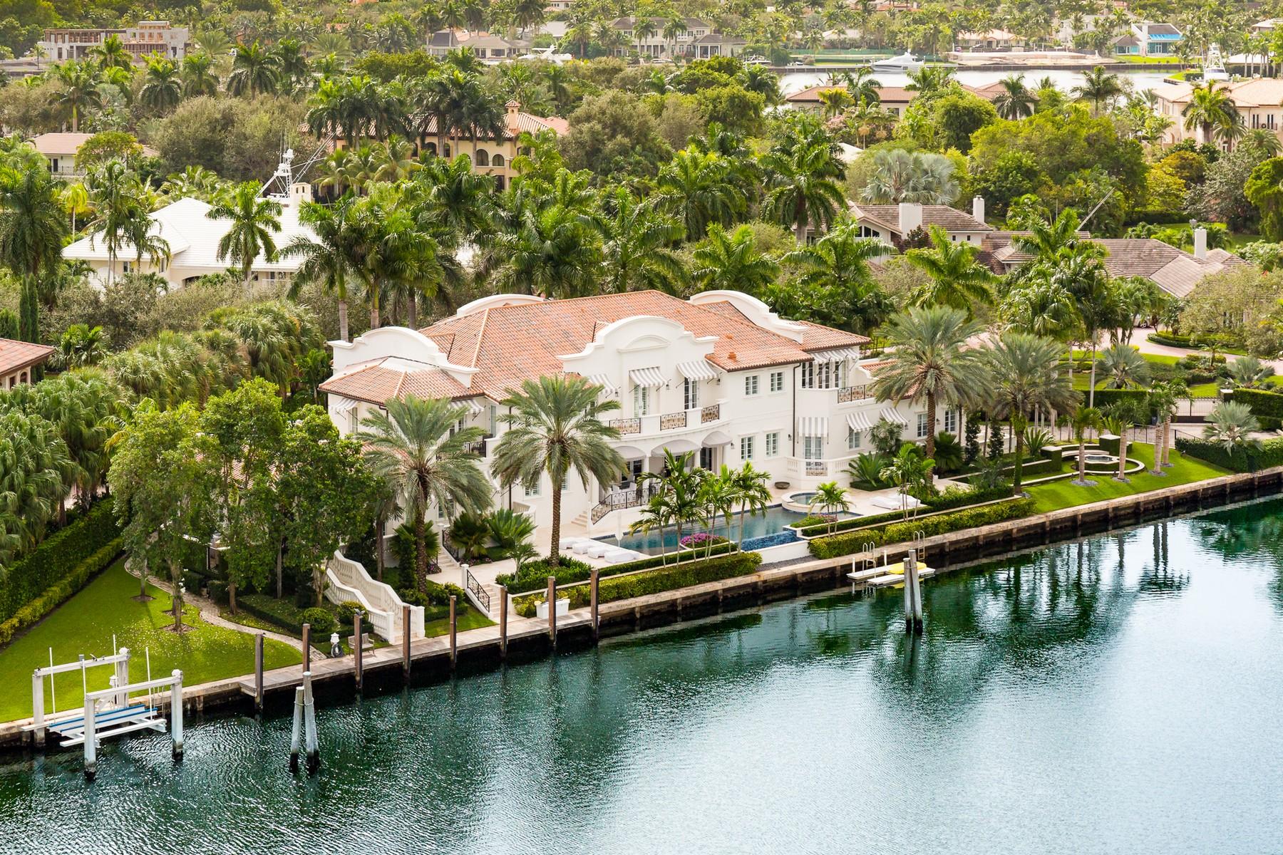 Casa Unifamiliar por un Venta en 485 Leucadendra Drive Coral Gables, Florida, 33156 Estados Unidos