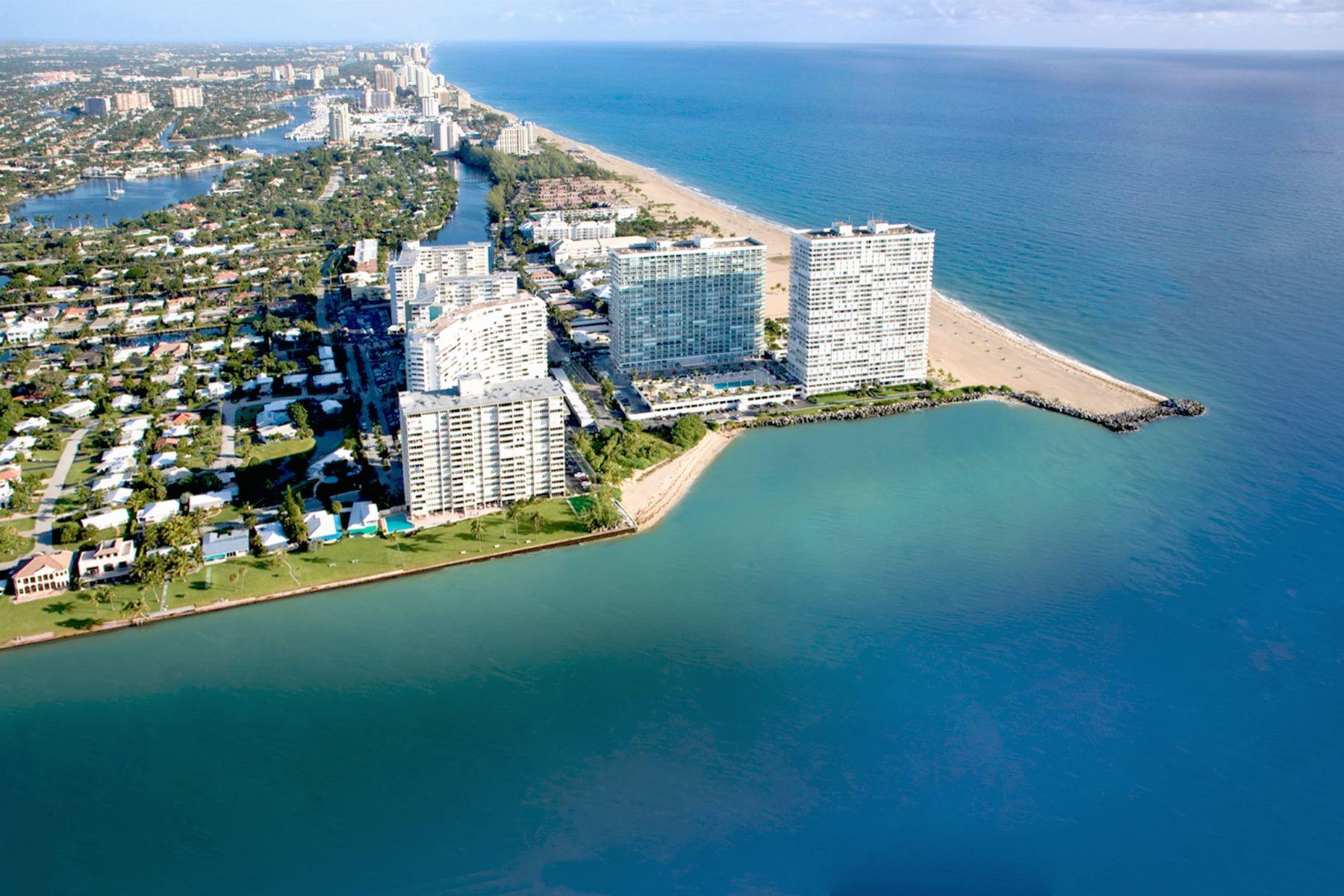 콘도미니엄 용 매매 에 2100 S Ocean Ln 2100 S Ocean Ln 1009, Fort Lauderdale, 플로리다, 33316 미국