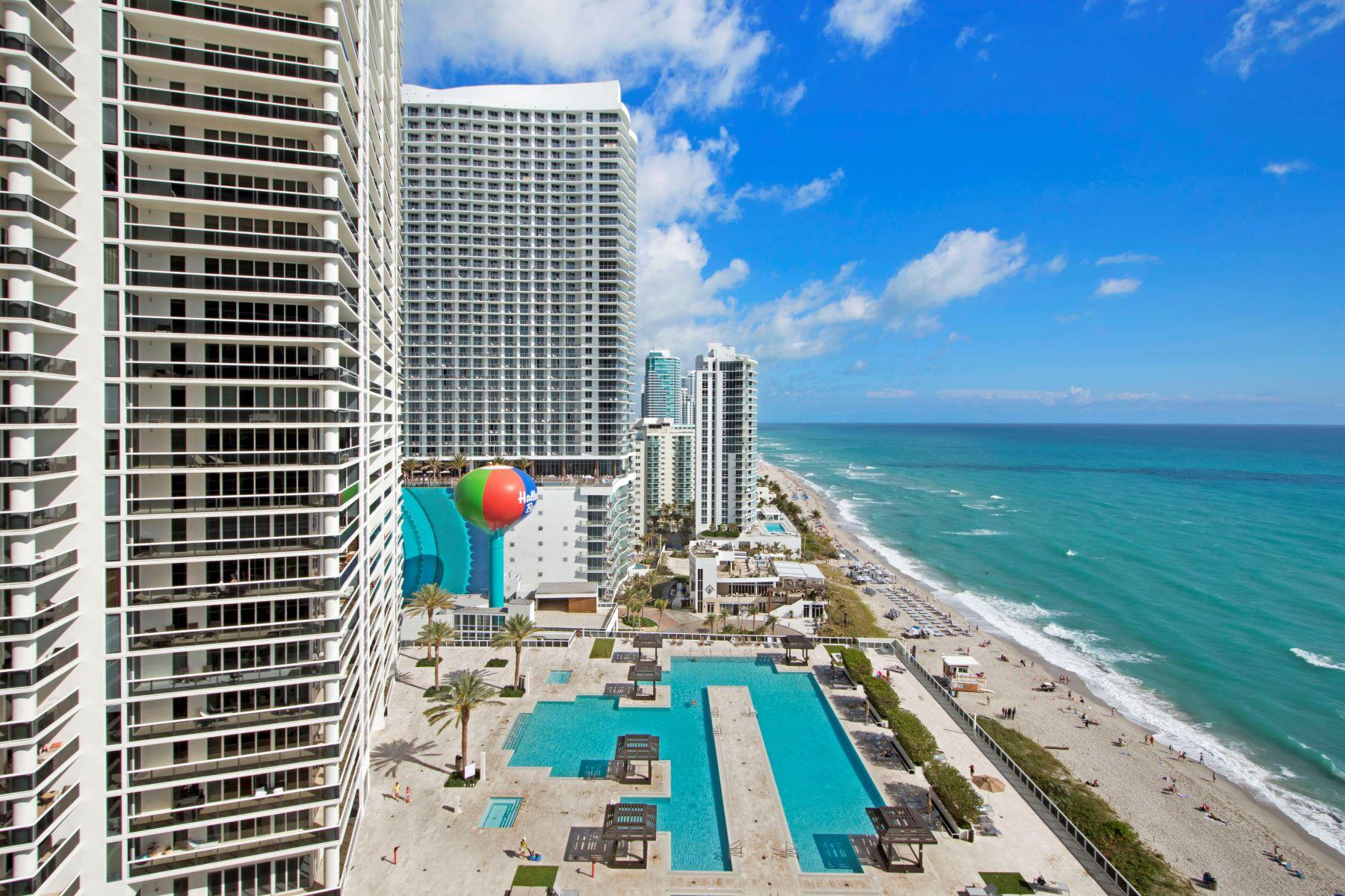 共管式独立产权公寓 为 销售 在 1830 S Ocean Dr #1912 1830 S Ocean Dr 1912, 哈兰代尔, 佛罗里达州, 33009 美国