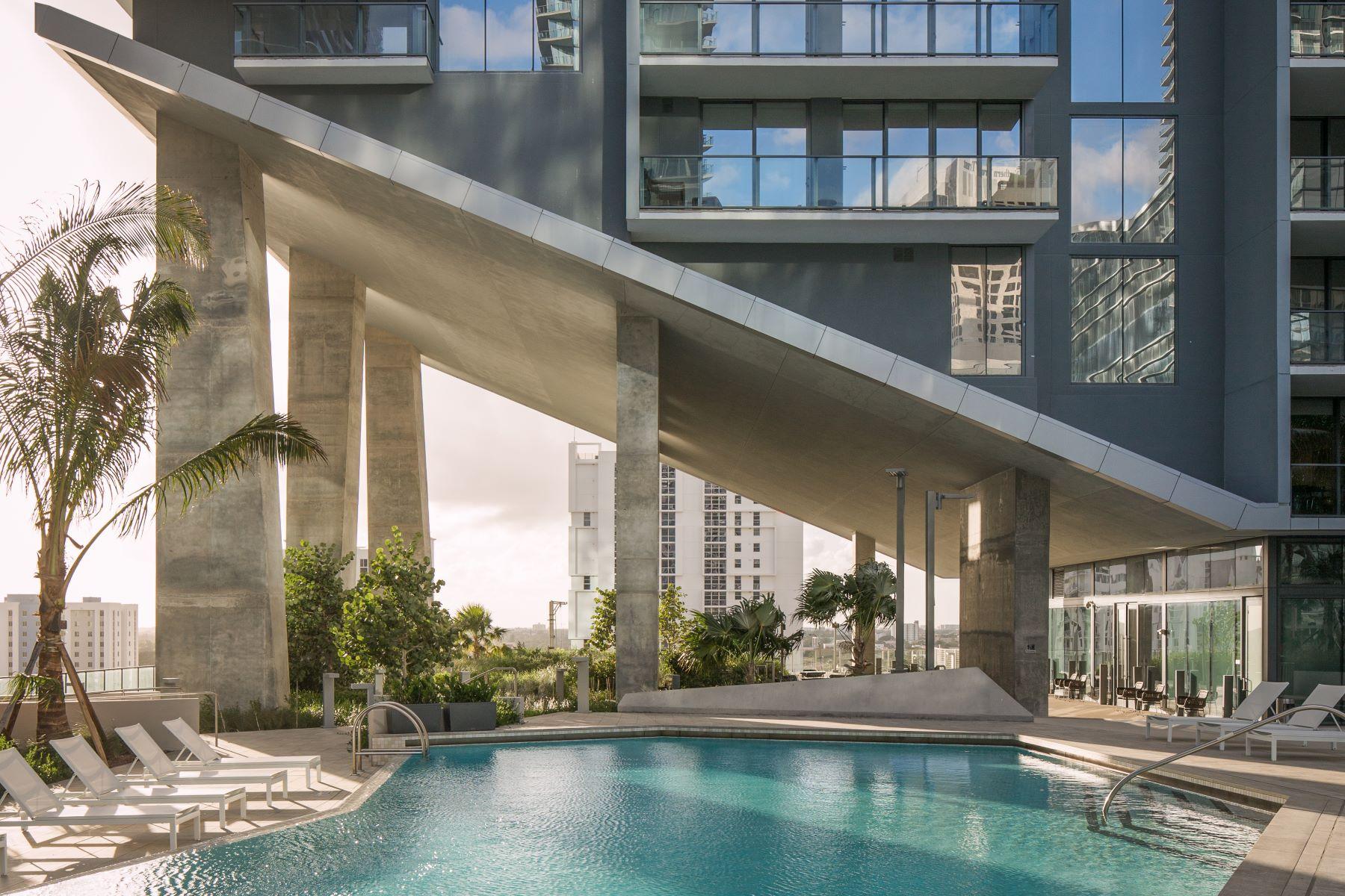 콘도미니엄 용 매매 에 88 Sw 7 Street #3808 88 Sw 7 Street 3808 Miami, 플로리다, 33131 미국