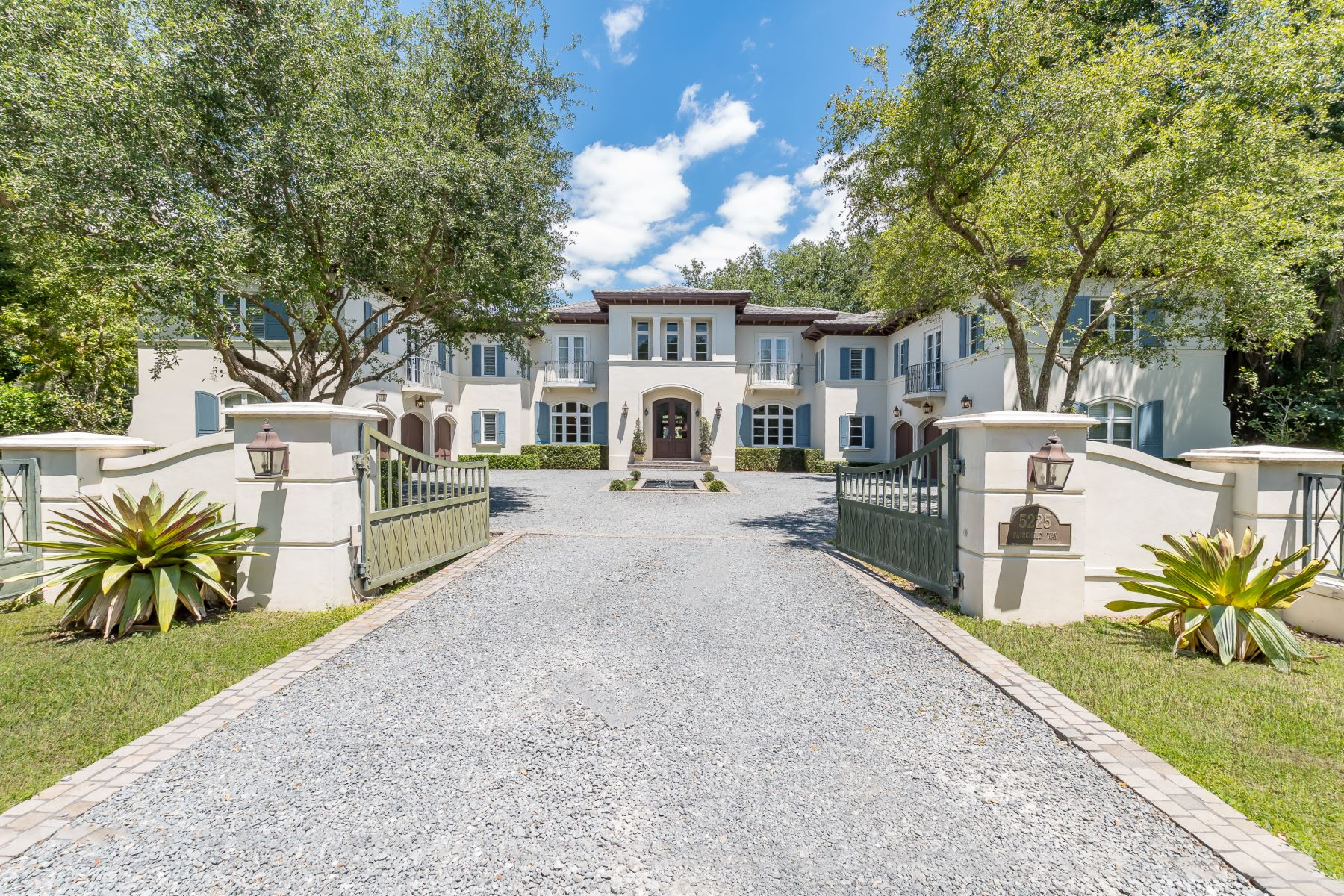 Single Family Homes for Sale at 5225 Fairchild Way Coral Gables, Florida 33156 United States