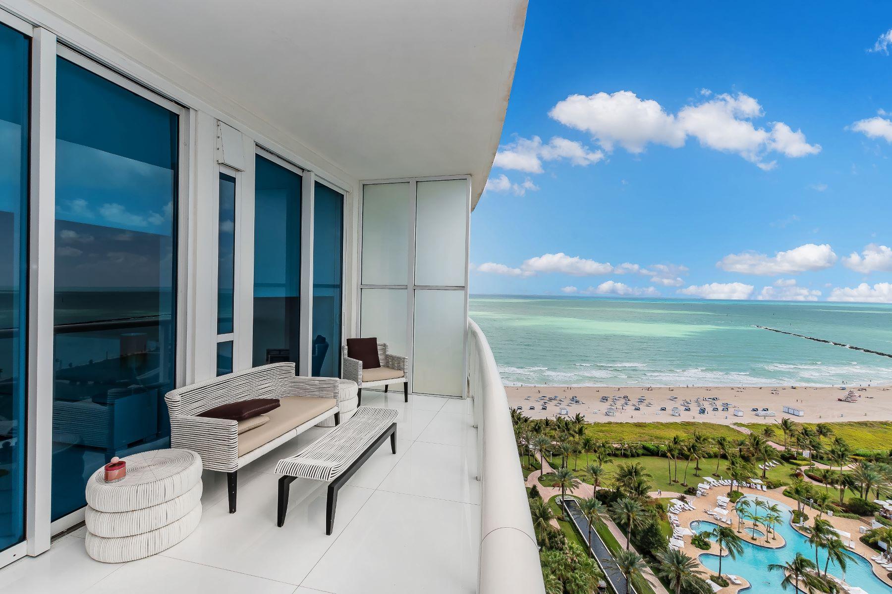 Кондоминиум для того Продажа на 50 S Pointe Dr 50 S Pointe Dr 2003, Miami Beach, Флорида, 33139 Соединенные Штаты