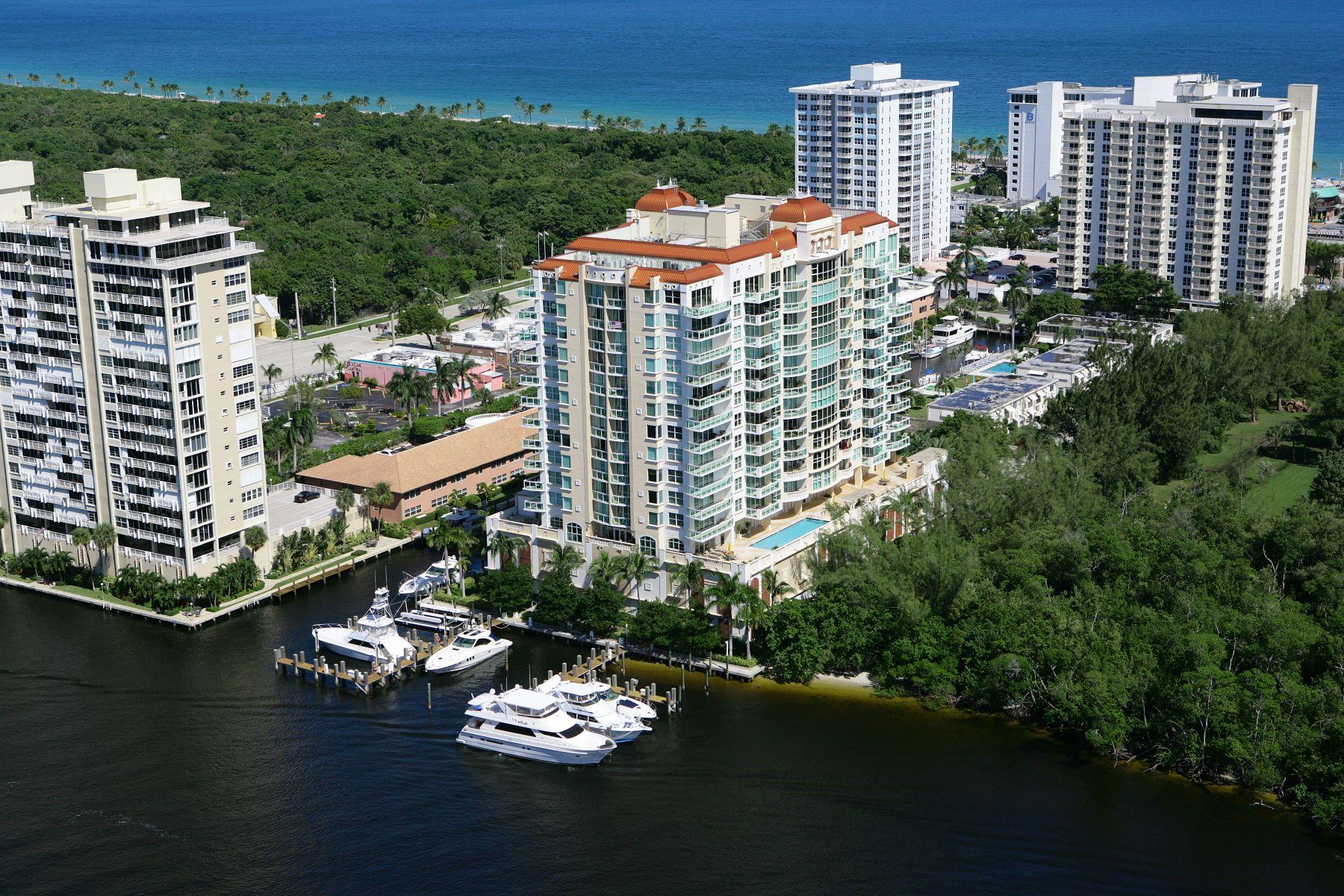獨棟家庭住宅 為 出售 在 2845 Ne 9th St #602 2845 Ne 9th St 602, Fort Lauderdale, 佛羅里達州, 33304 美國