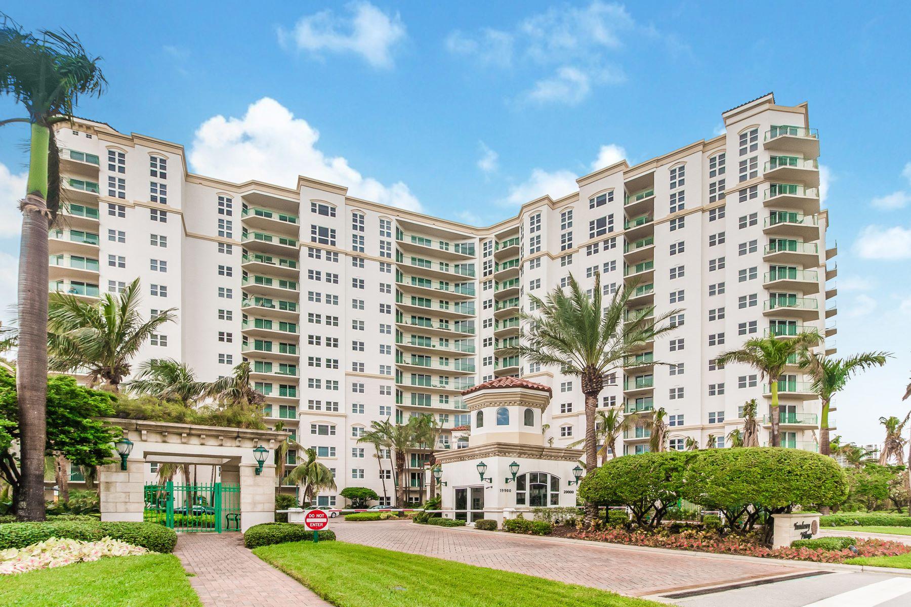Appartement en copropriété pour l à louer à 20000 E Country Club Dr #803 20000 E Country Club Dr 803 Aventura, Florida 33180 États-Unis