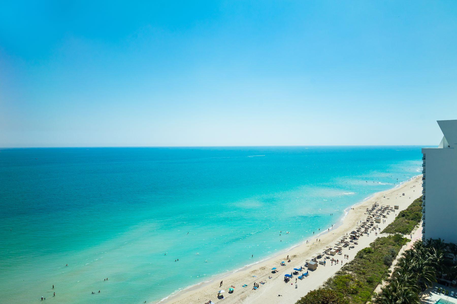 共管物業 為 出售 在 6901 Collins Av 6901 Collins Av 902, Miami Beach, 佛羅里達州, 33141 美國