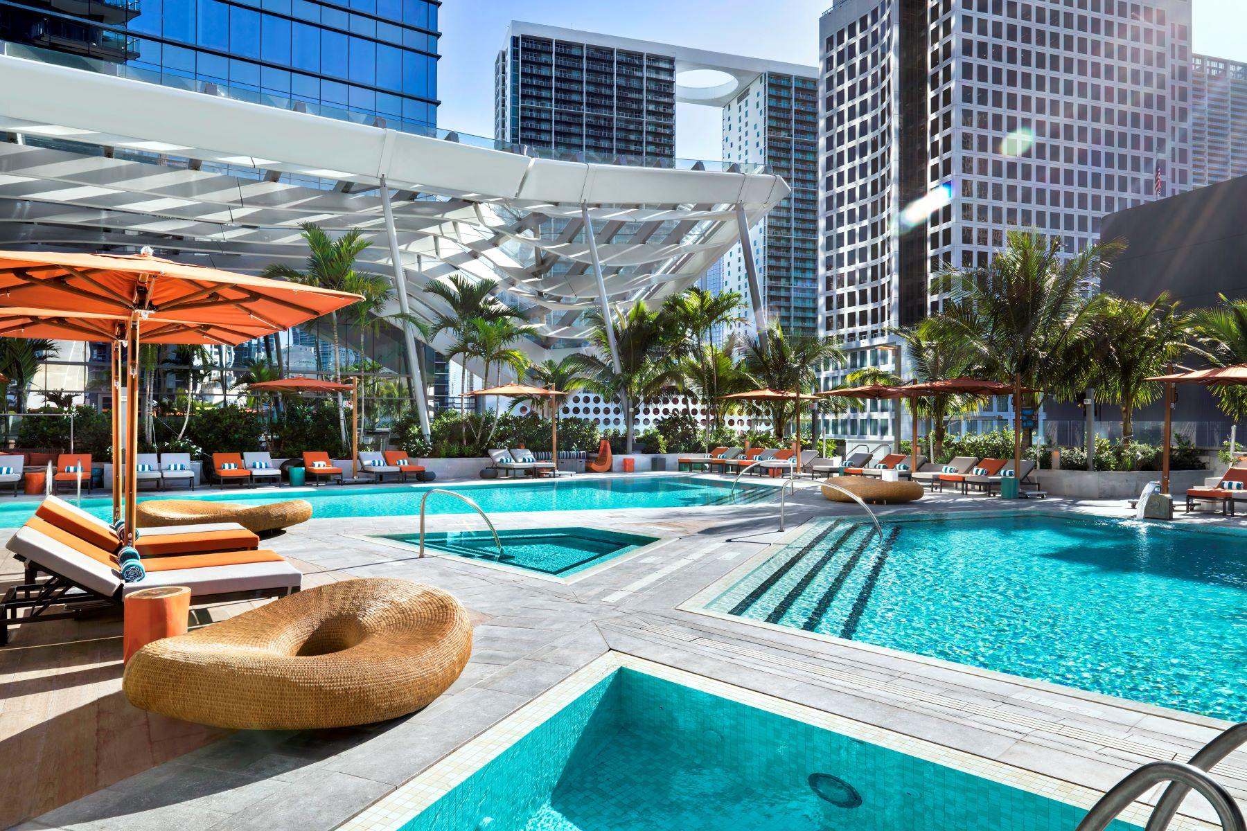 شقة بعمارة للـ Rent في 788 Brickell Plaza #1107 788 Brickell Plaza 1107 Miami, Florida 33131 United States
