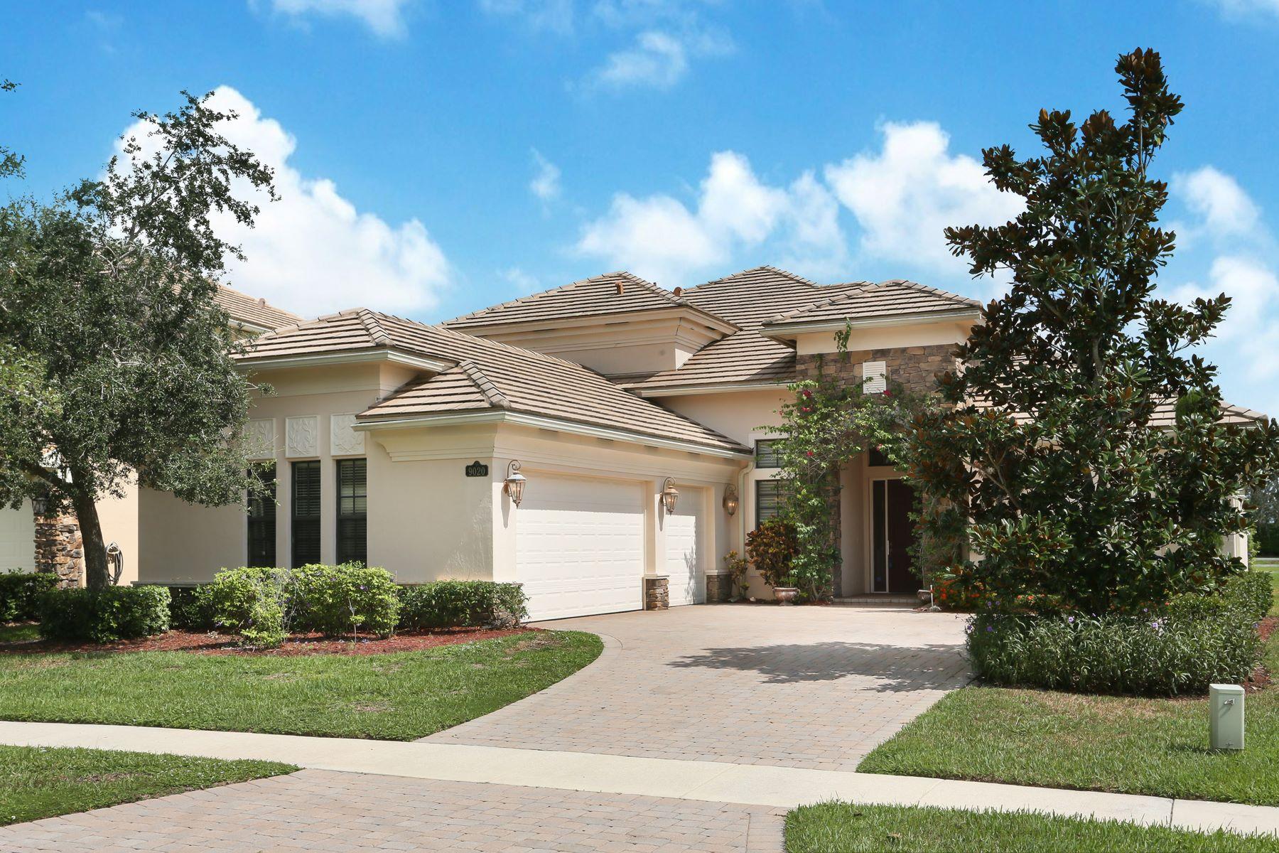 Частный односемейный дом для того Продажа на 9020 Equus Cir 9020 Equus Cir Boynton Beach, Флорида 33472 Соединенные Штаты