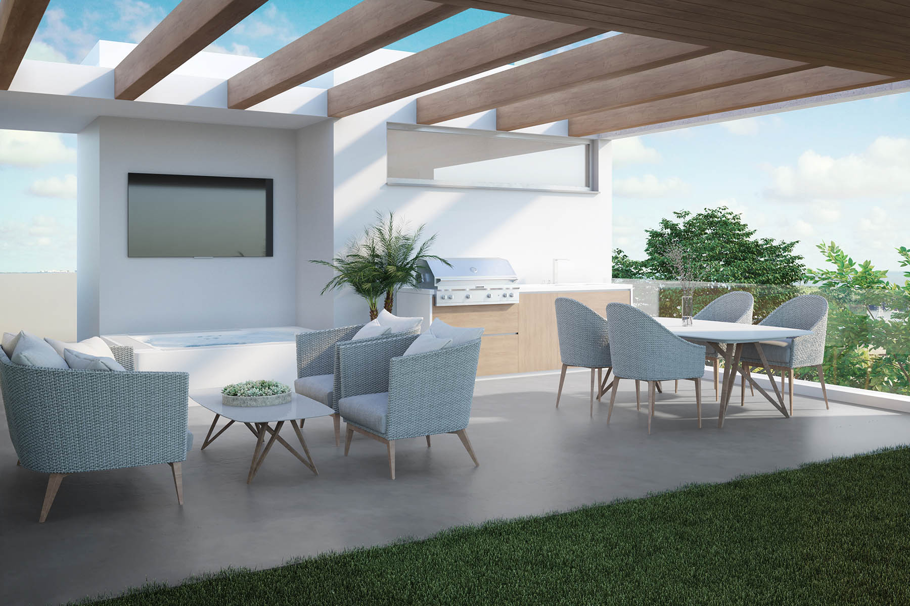 townhouses for Active at 2924 Bird Avenue 4 Coconut Grove, Florida 33133 United States