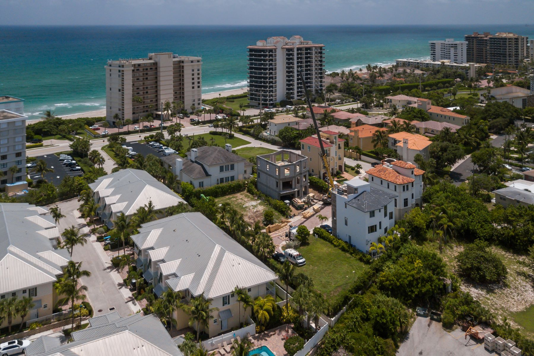 Single Family Homes for Sale at 842 Ocean Side Drive Juno Beach, Florida 33408 United States