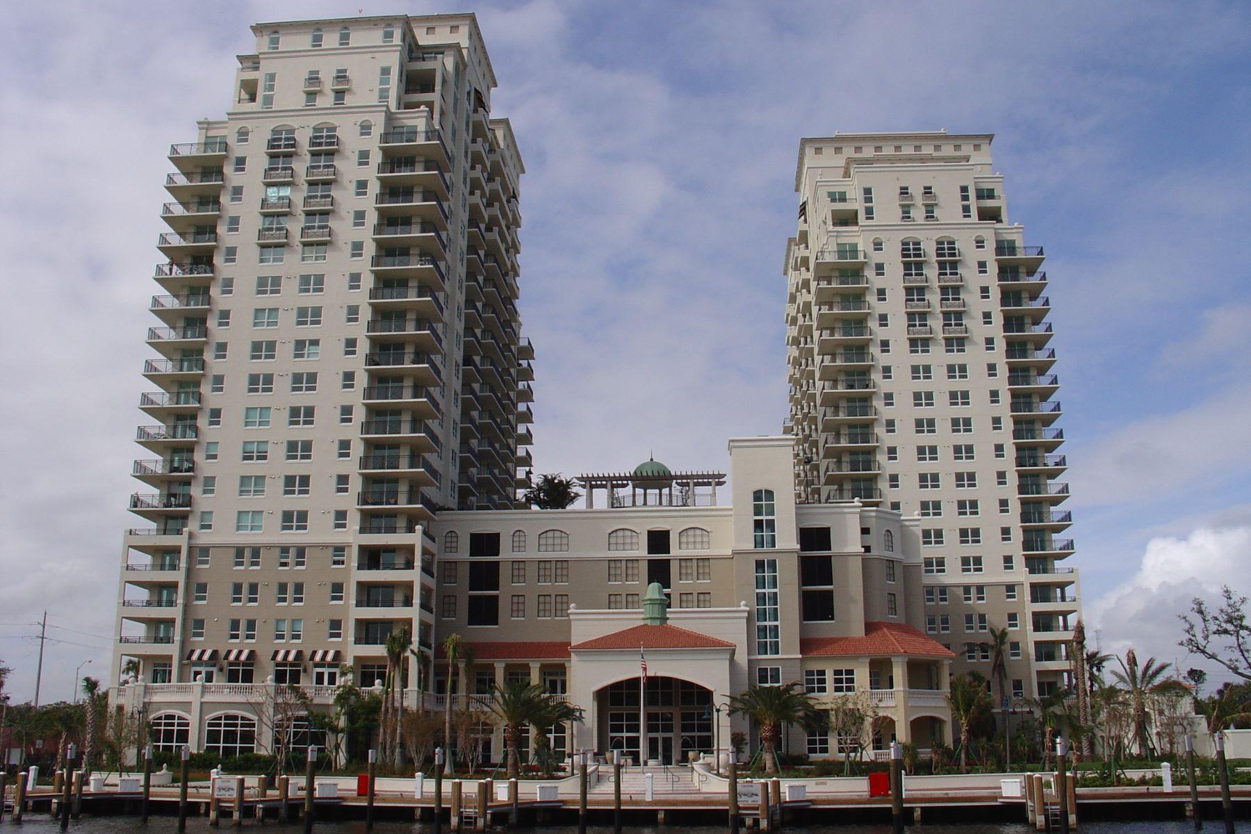 Appartement pour l Vente à 610 W Las Olas Blvd #415N 610 W Las Olas Blvd 415N Fort Lauderdale, Florida, 33312 États-Unis