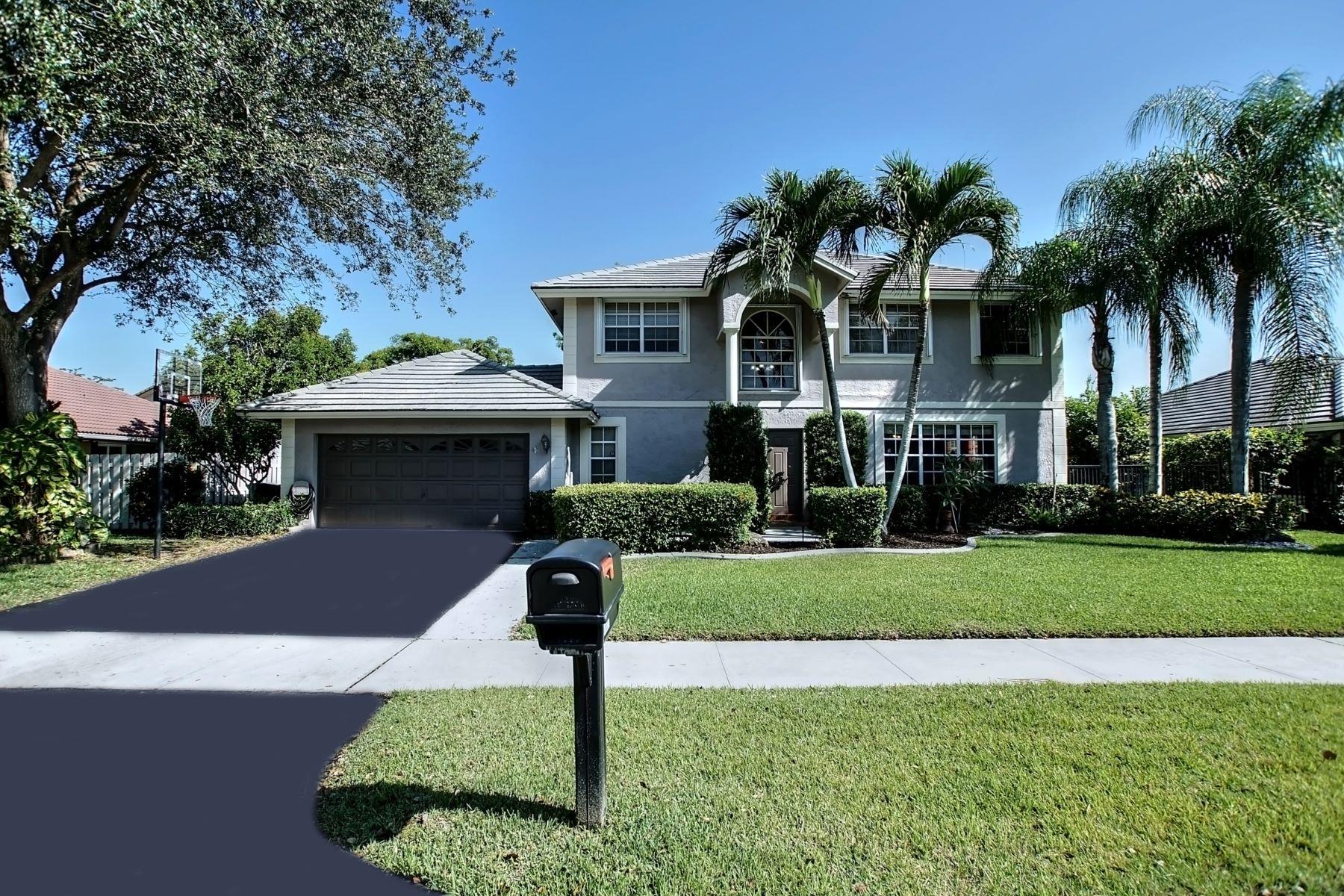 獨棟家庭住宅 為 出售 在 Davie Single Family Davie, 佛羅里達州, 33325 美國