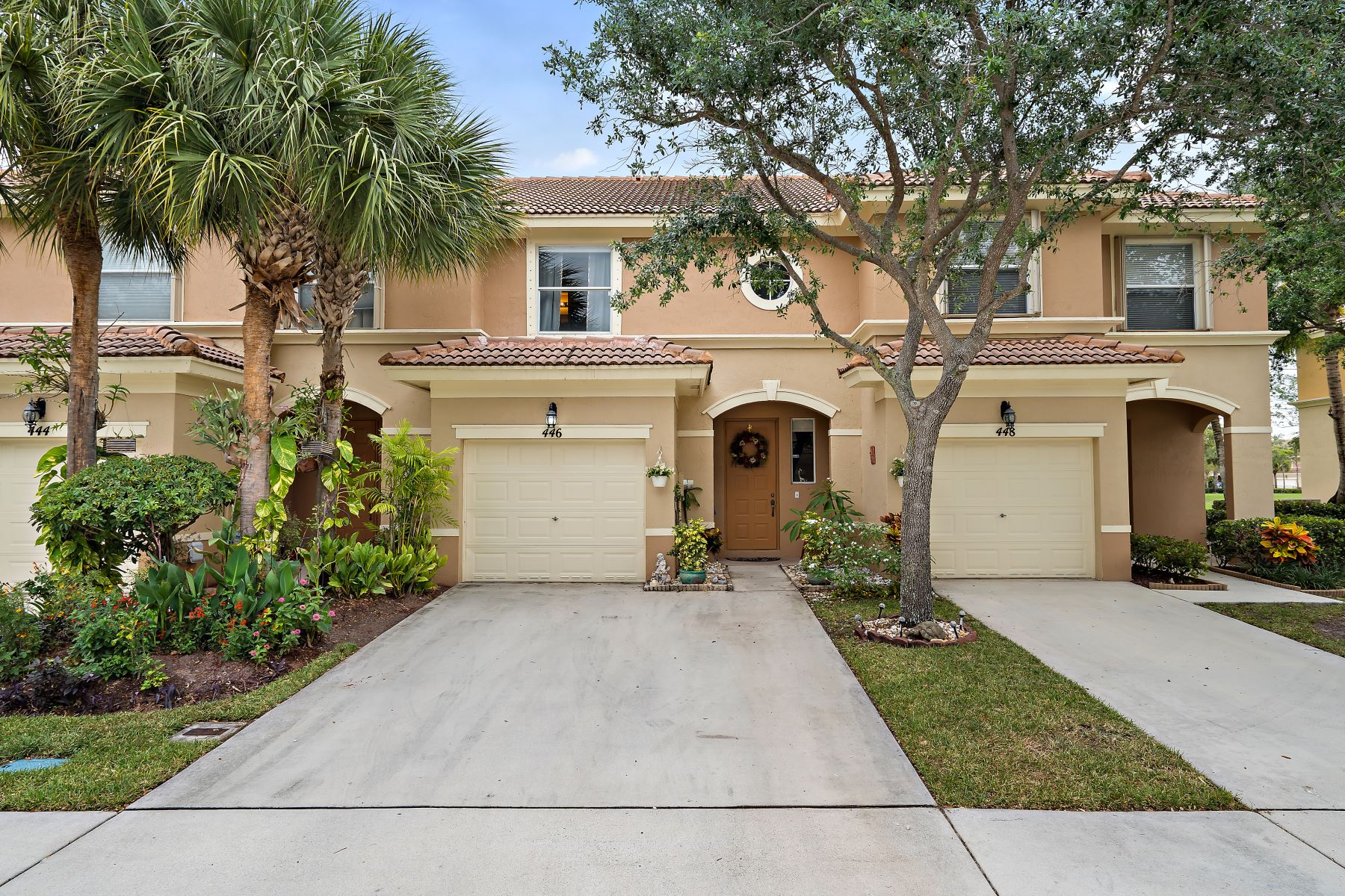 Townhouse for Active at 446 Rainbow Springs Terrace Royal Palm Beach, Florida 33411 United States