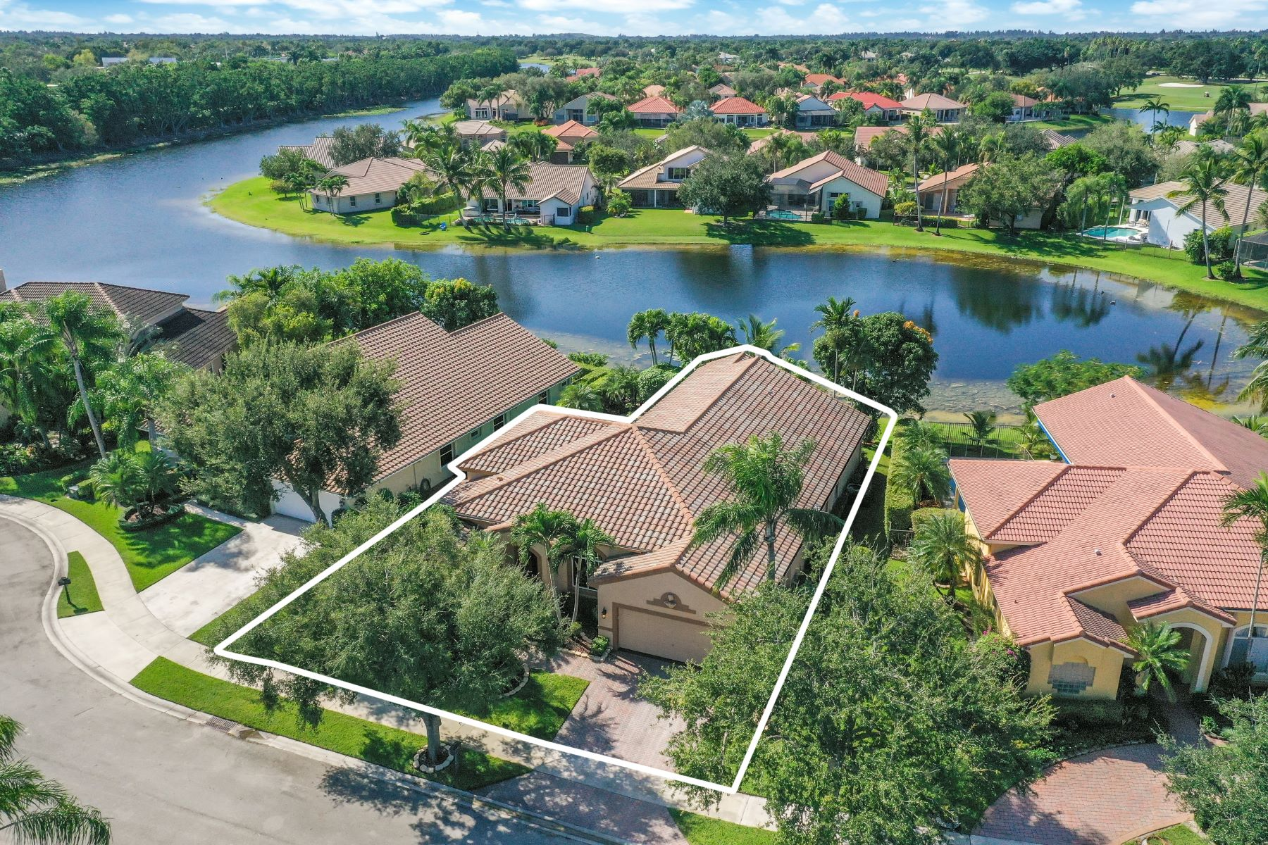 Single Family Homes for Sale at 2675 Palmer Pl Weston, Florida 33332 United States