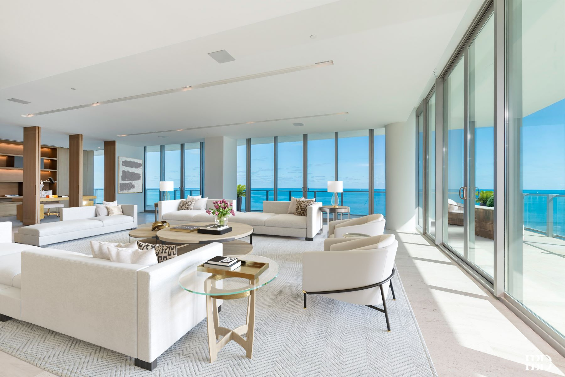 Condominium for Sale at 360 Ocean Dr 360 Ocean Dr PH1S Miami, Florida 33149 United States