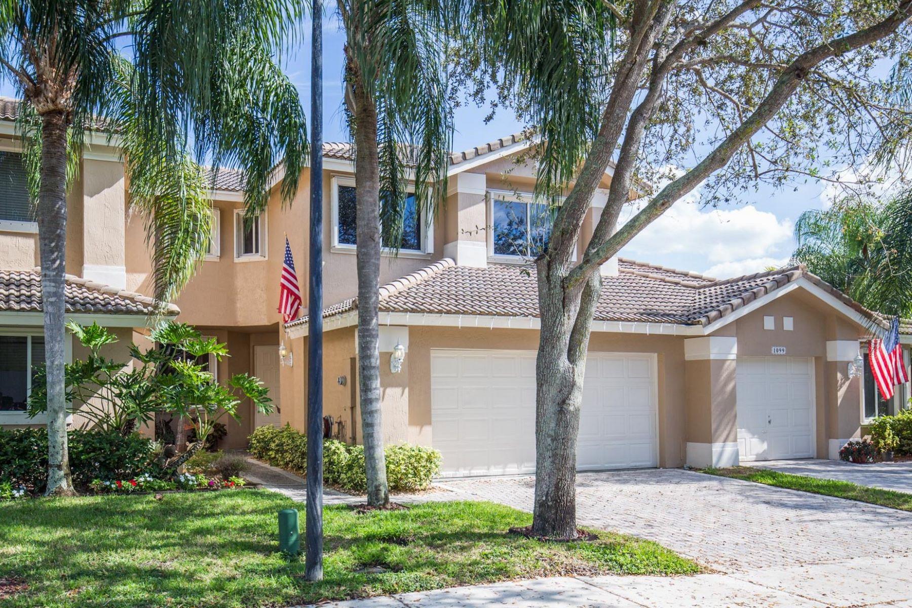 Residência urbana para Venda às 1087 Sw 158th Way #1087 1087 Sw 158th Way 1087 Pembroke Pines, Florida, 33027 Estados Unidos