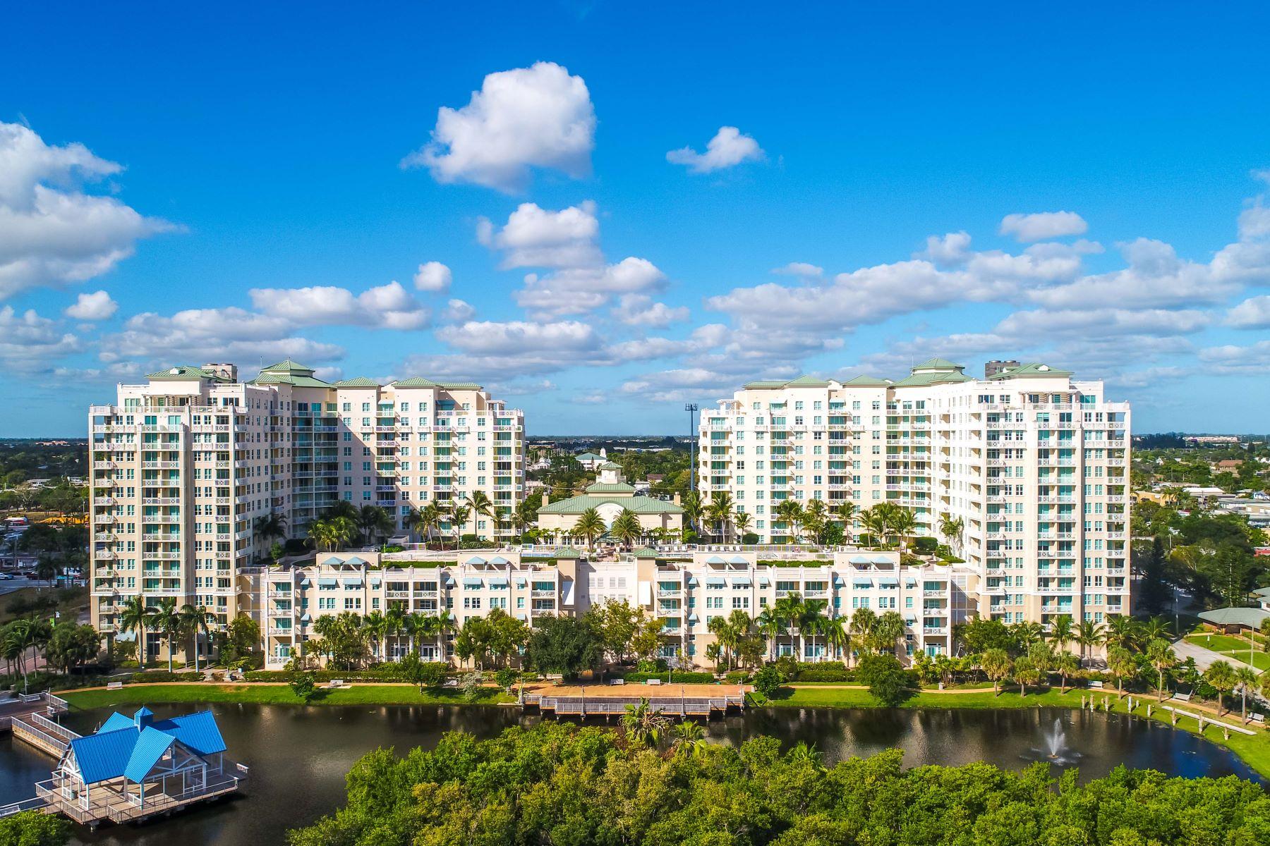 Кондоминиум для того Продажа на 450 N Federal Hwy 450 N Federal Hwy 814 Boynton Beach, Флорида 33435 Соединенные Штаты
