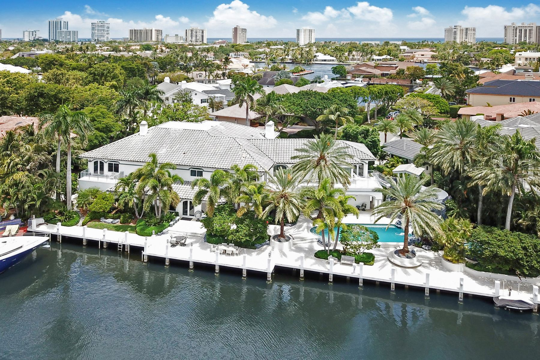 Vivienda unifamiliar por un Venta en 11 Bay Colony Ln 11 Bay Colony Ln Fort Lauderdale, Florida 33308 Estados Unidos