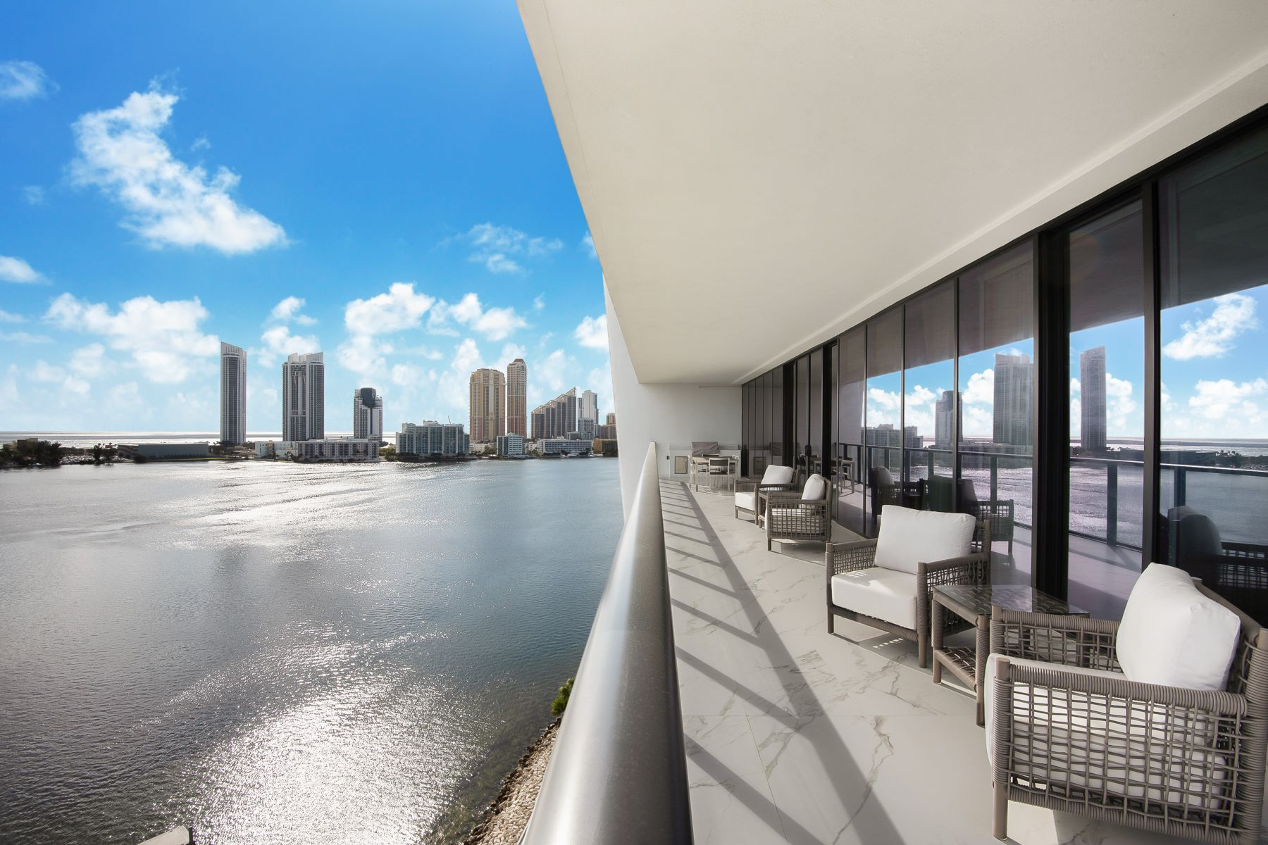 "Condominiums for Sale at 5500 Island Estates ""model By Steven G"" Furnished 901, Aventura, Florida 33160 United States"