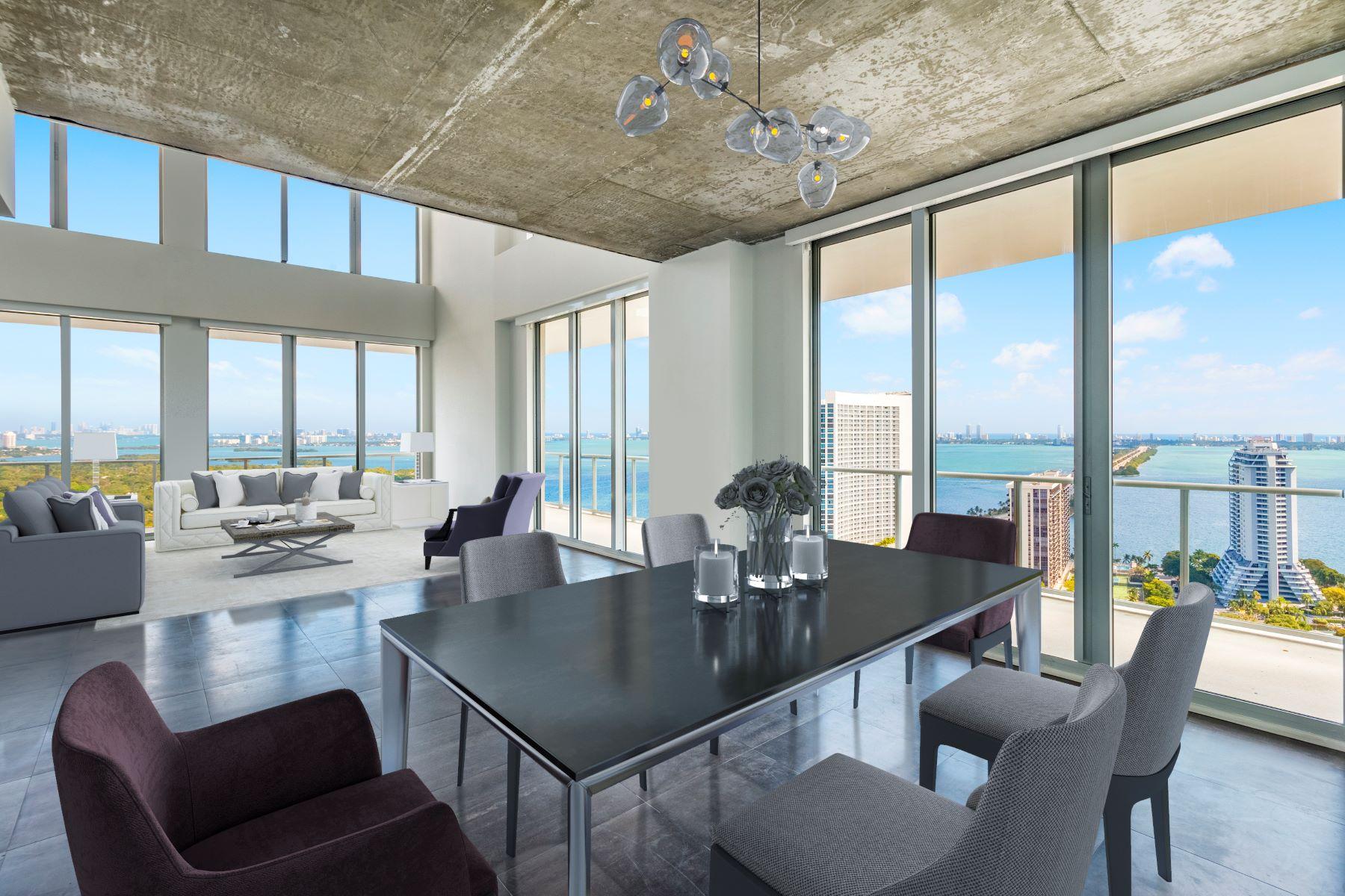 Appartement en copropriété pour l Vente à 3470 E Coast Ave #Phx3 3470 E Coast Ave PHX3 Miami, Florida, 33137 États-Unis
