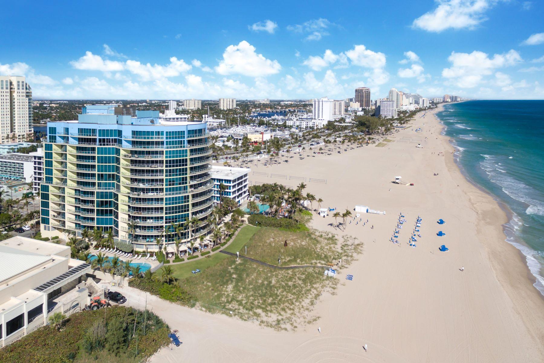 Частный односемейный дом для того Продажа на 1200 Holiday Drive #204 1200 Holiday Drive 204, Fort Lauderdale, Флорида, 33316 Соединенные Штаты