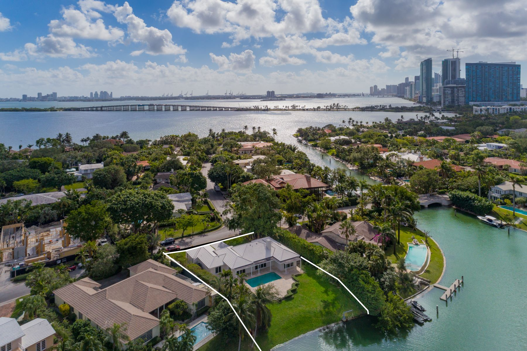Single Family Home for Sale at 4425 Island Rd 4425 Island Rd Miami, Florida 33137 United States
