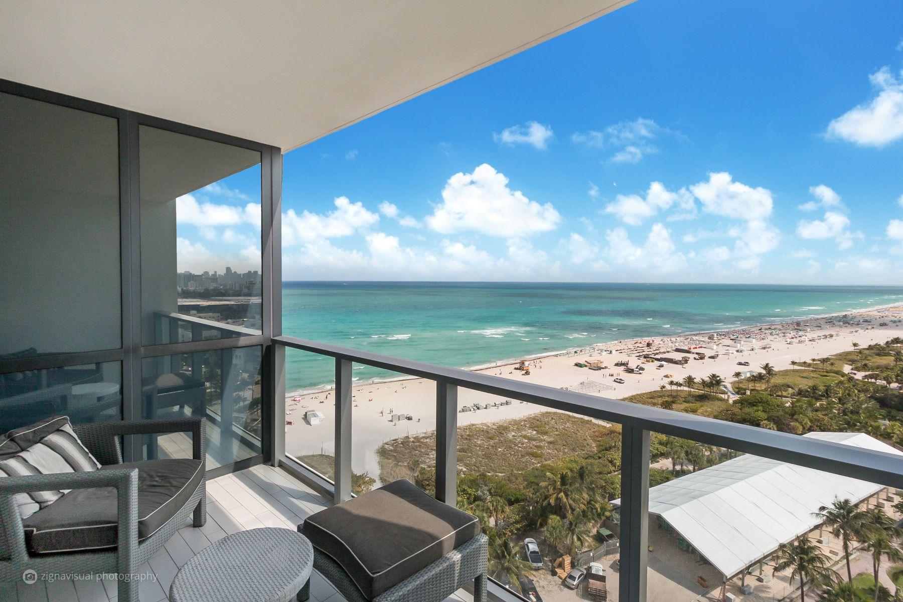 콘도미니엄 용 매매 에 2201 Collins Ave #1626 2201 Collins Ave 1626 Miami Beach, 플로리다, 33139 미국