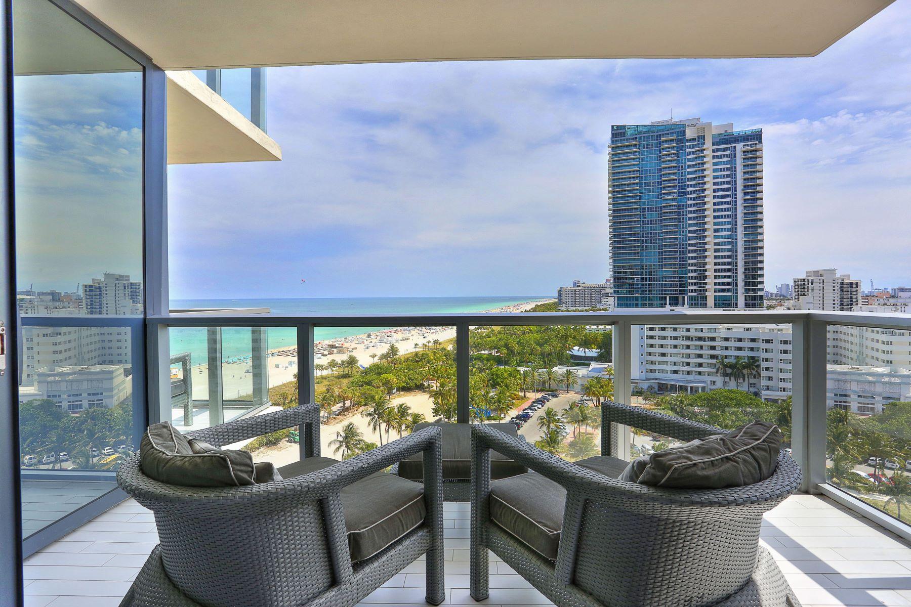 Piso por un Venta en 2201 Collins Ave # 1214 2201 Collins Ave 1214 Miami Beach, Florida, 33139 Estados Unidos