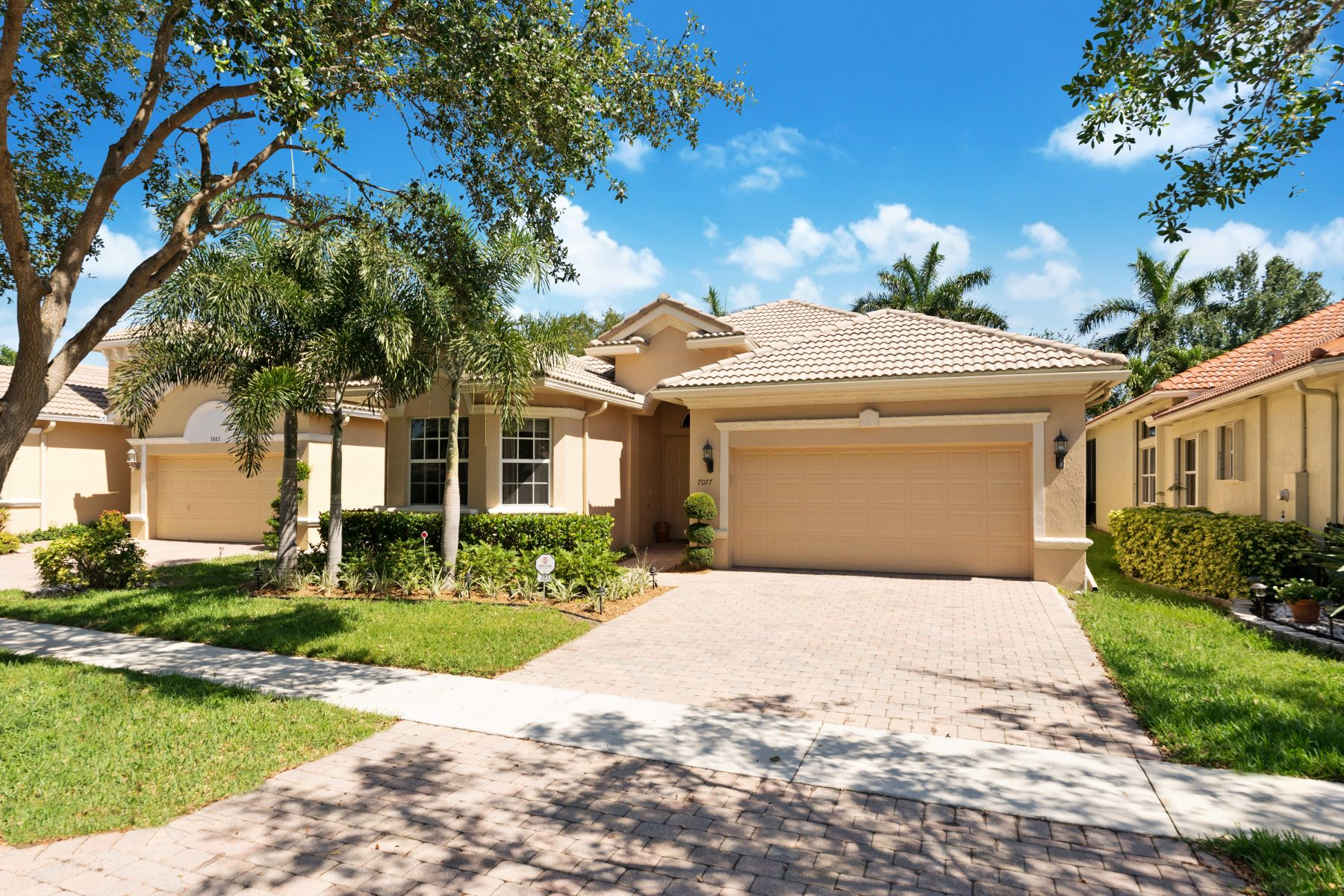 Single Family Home for Sale at 7077 Palazzo Reale Boynton Beach, Florida, 33437 United States
