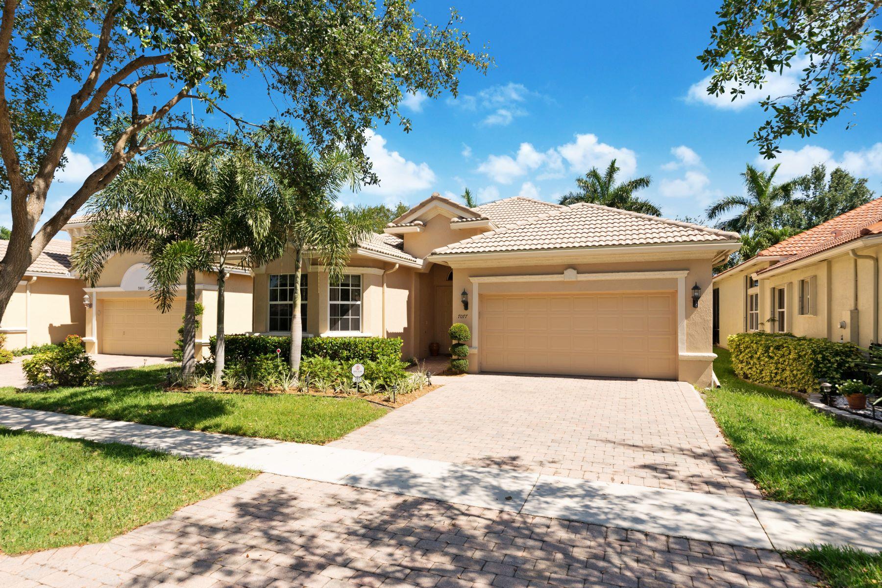 Single Family Home for Sale at 7077 Palazzo Reale Boynton Beach, Florida 33437 United States